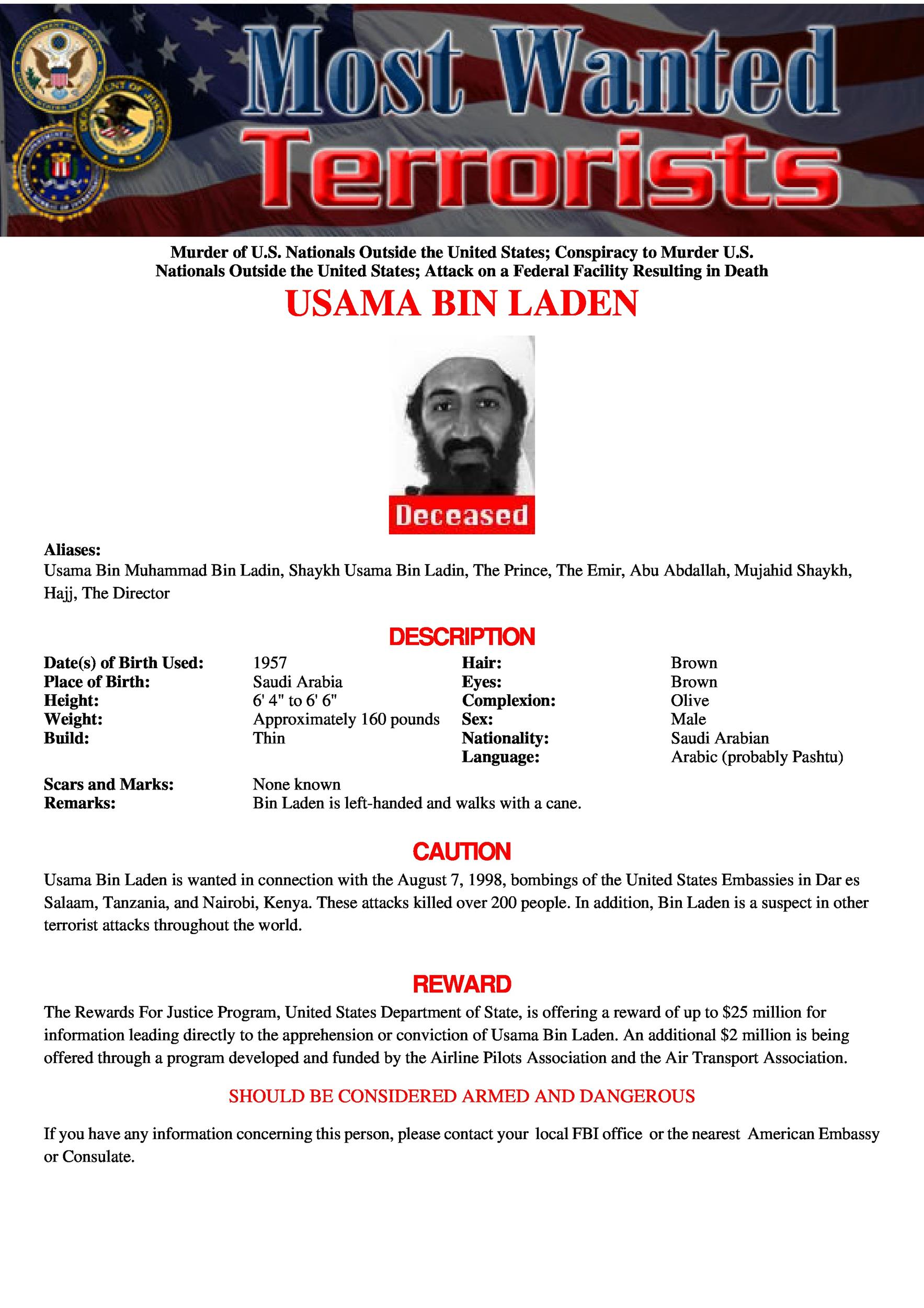 FBI wanted poster template 02