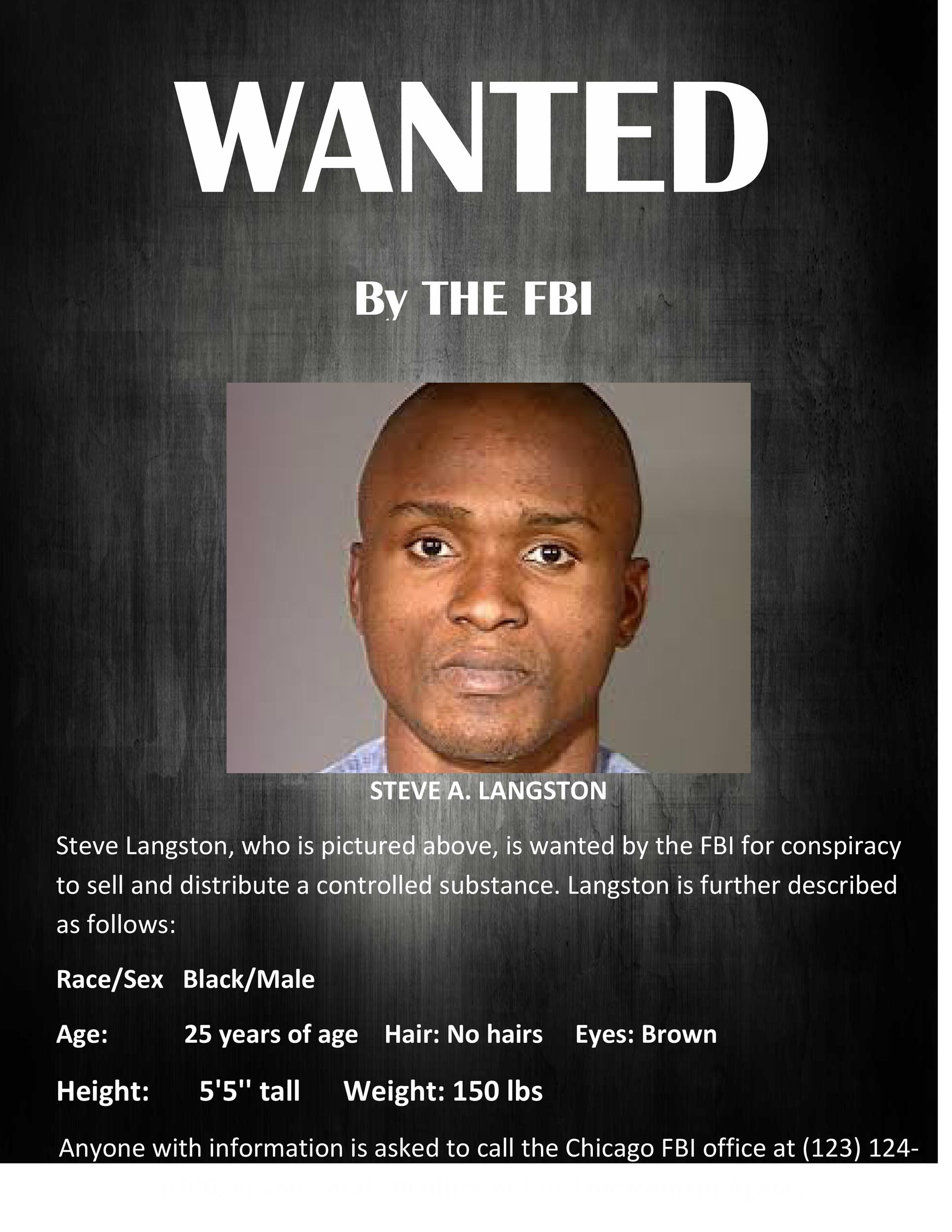 Free FBI wanted poster template 01