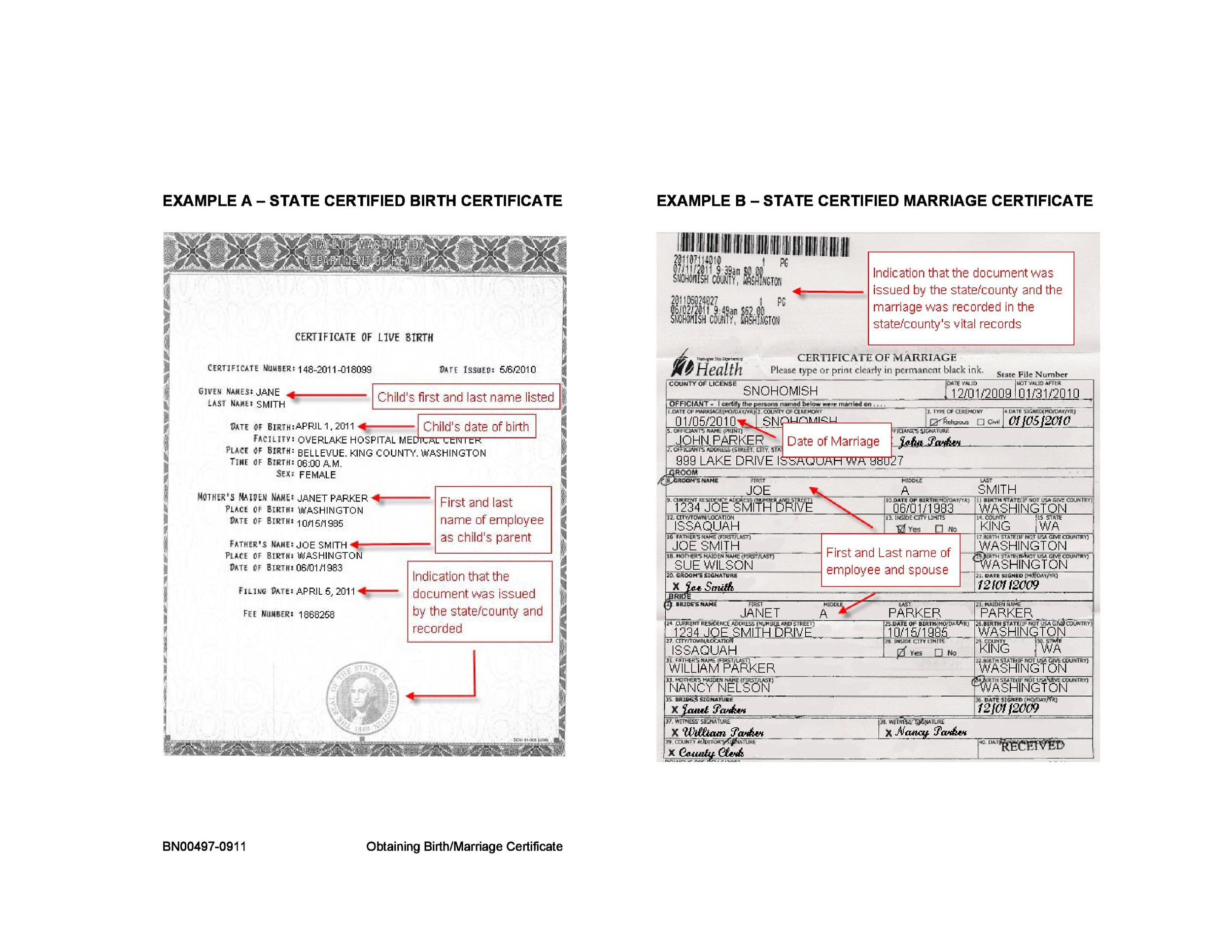 15 birth certificate templates (word & ) - template lab