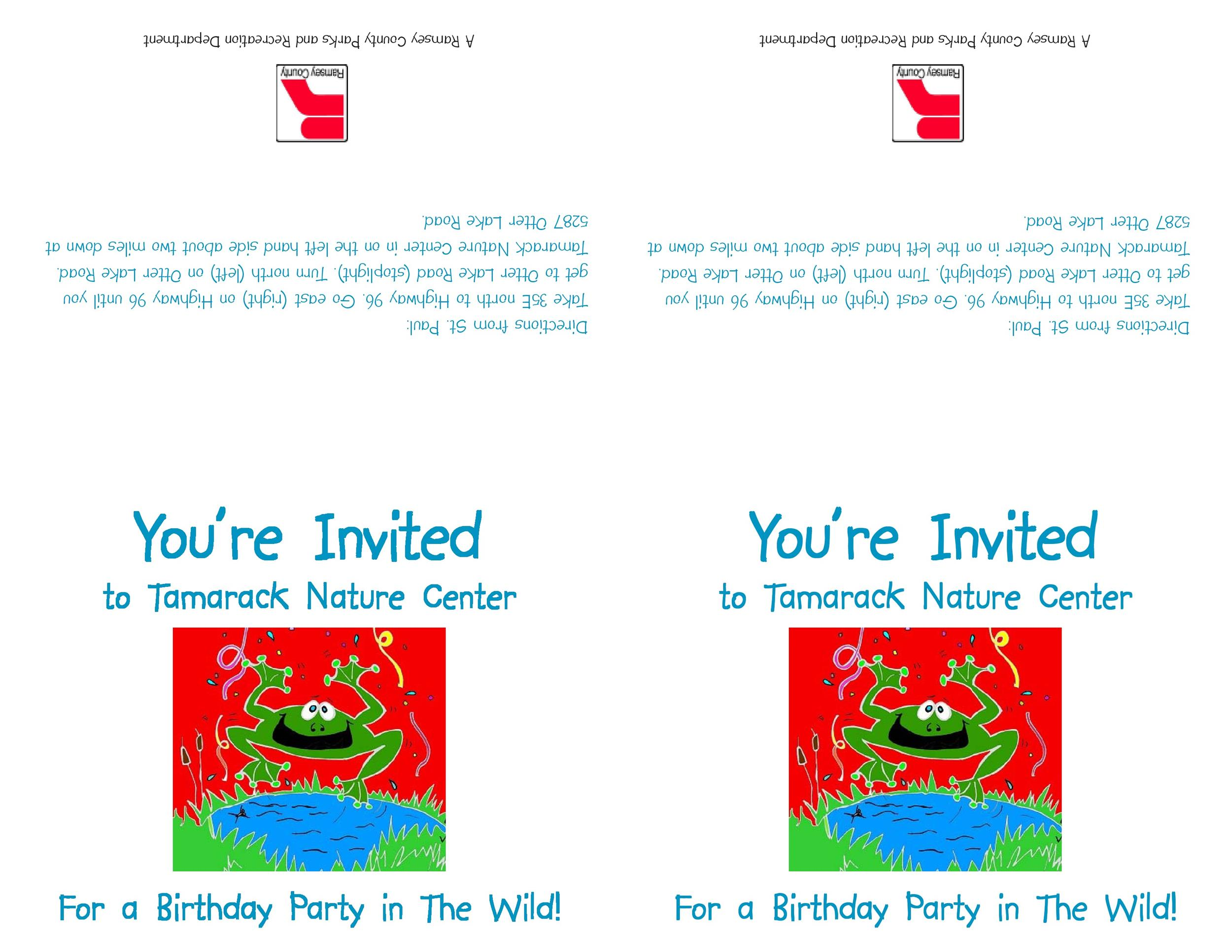 Free Birthday Invitation Template 10
