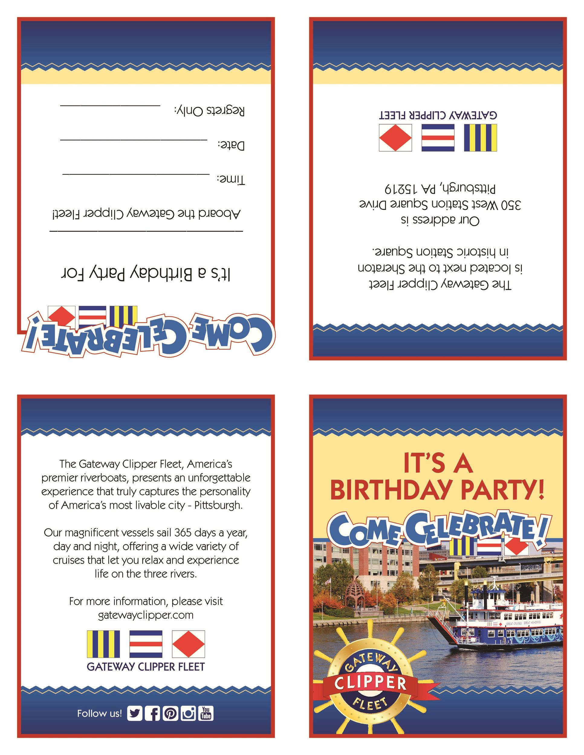 Free Birthday Invitation Template 21