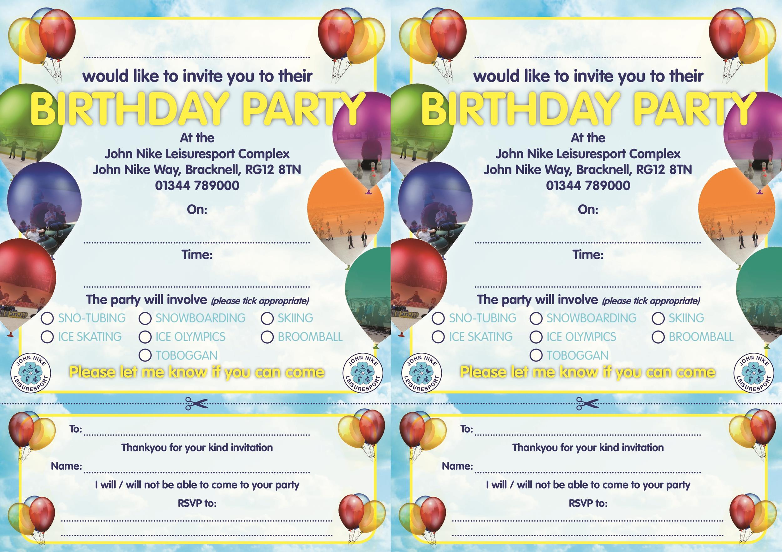 Free Birthday Invitation Template 30