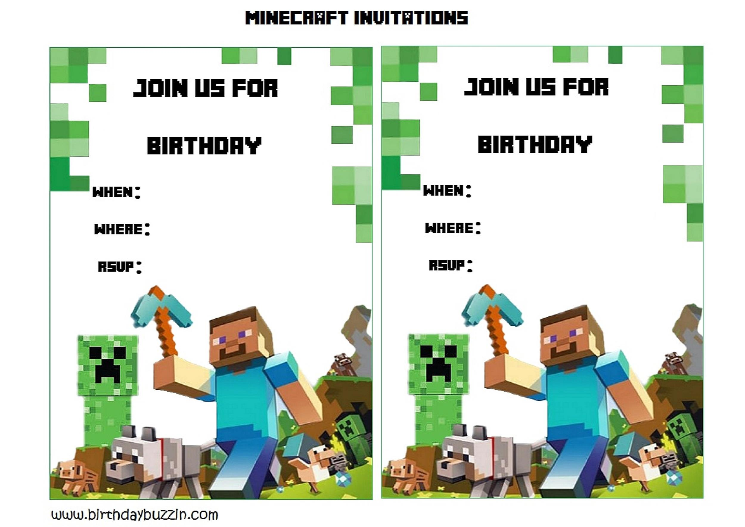 Free Birthday Invitation Template 35
