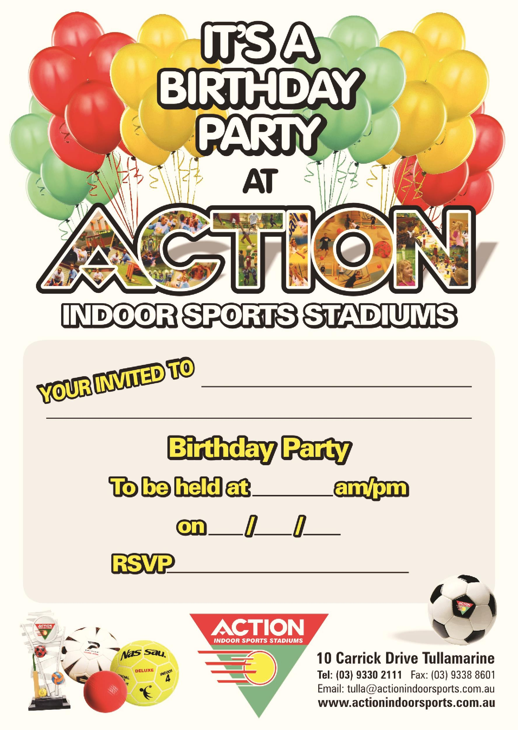 Free Birthday Invitation Template 37