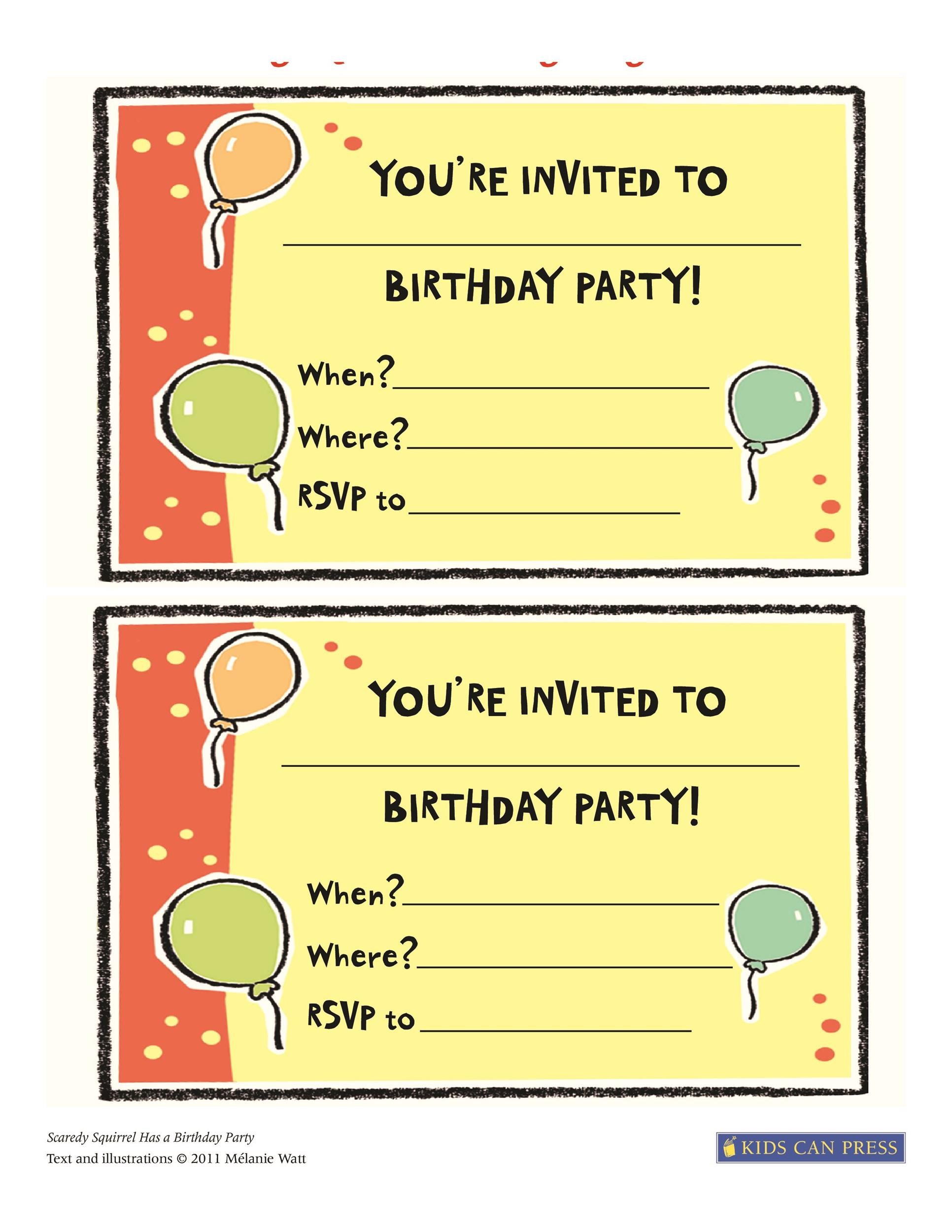 40 free birthday party invitation templates template lab printable birthday invitation template 41 stopboris Gallery
