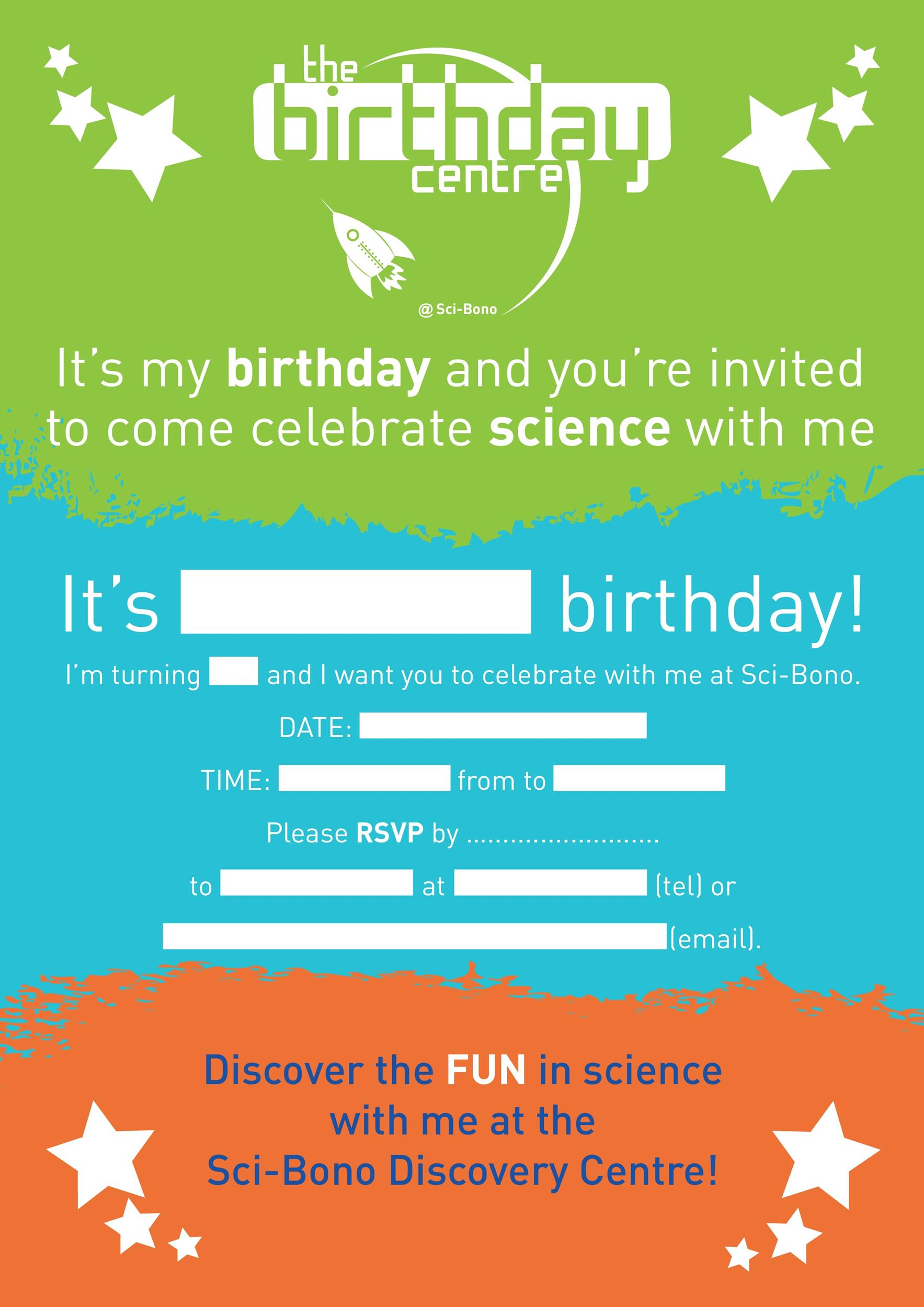 Free Birthday Invitation Template 42