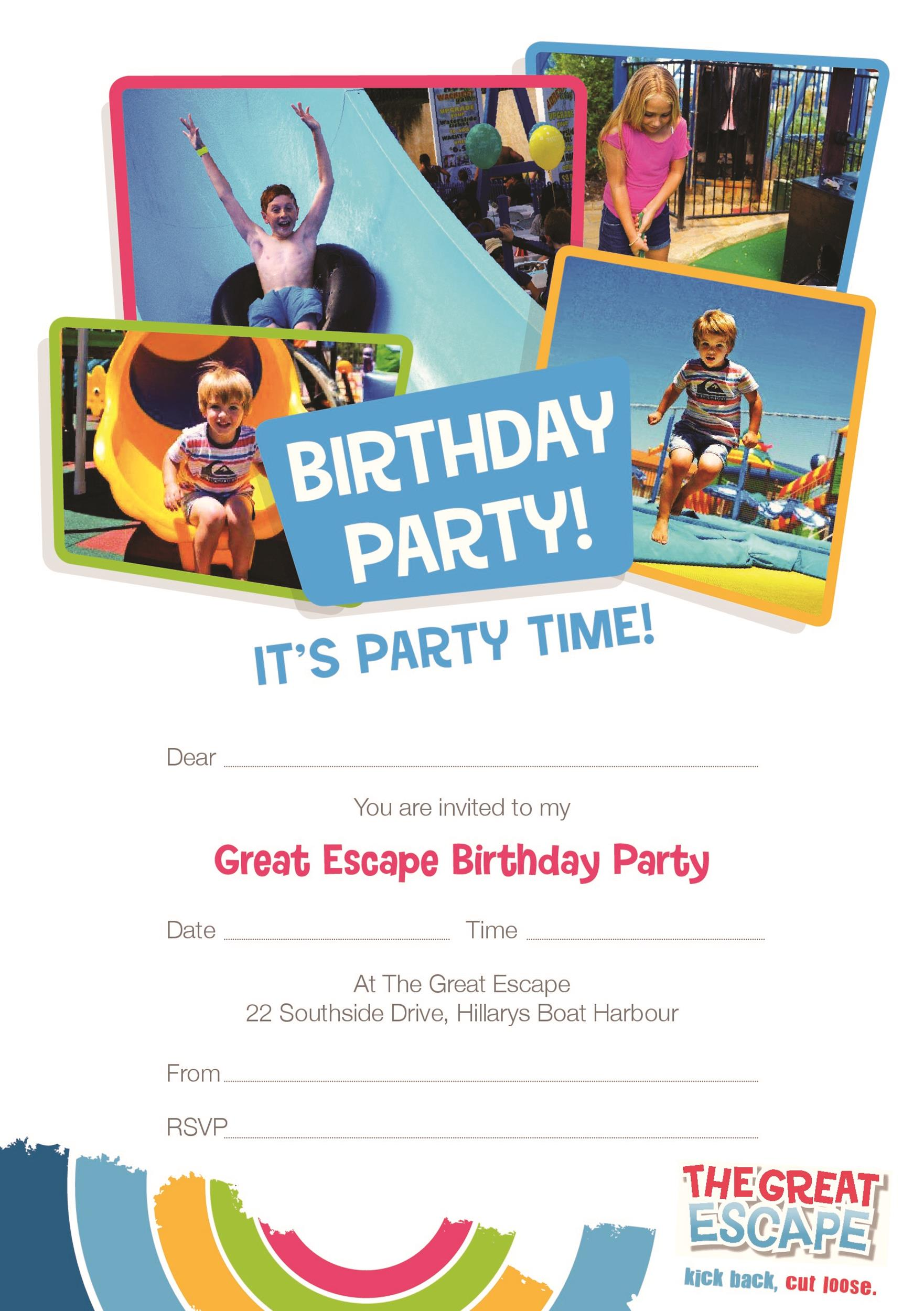 Free Birthday Invitation Template 44