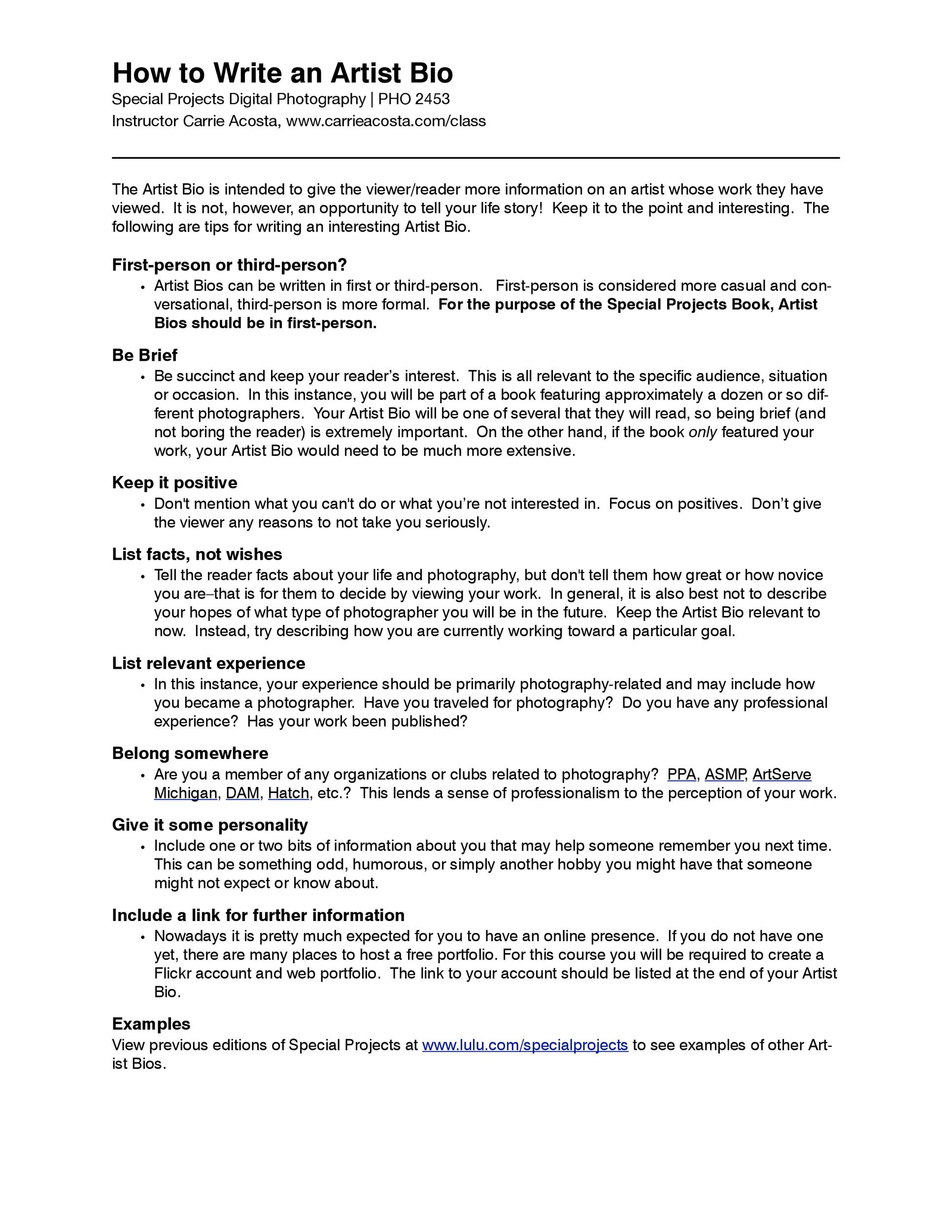 Speaking Engagement Proposal Template