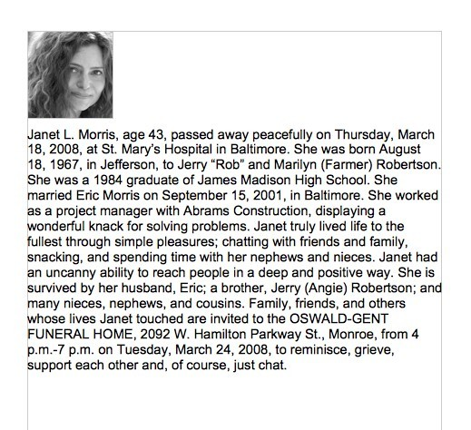 Obituary Templates And Samples  Template Lab