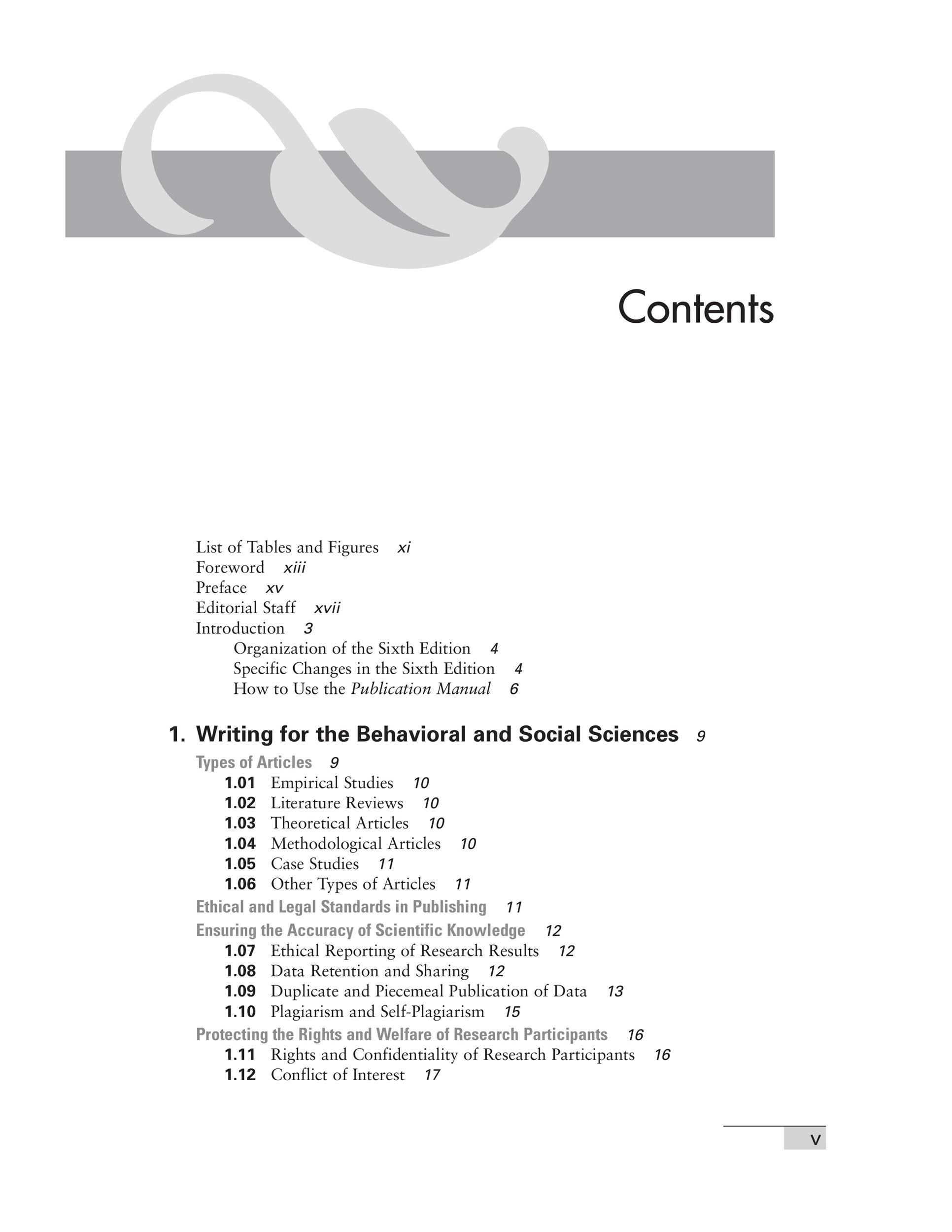 Free Table of Contents Template PDF 08