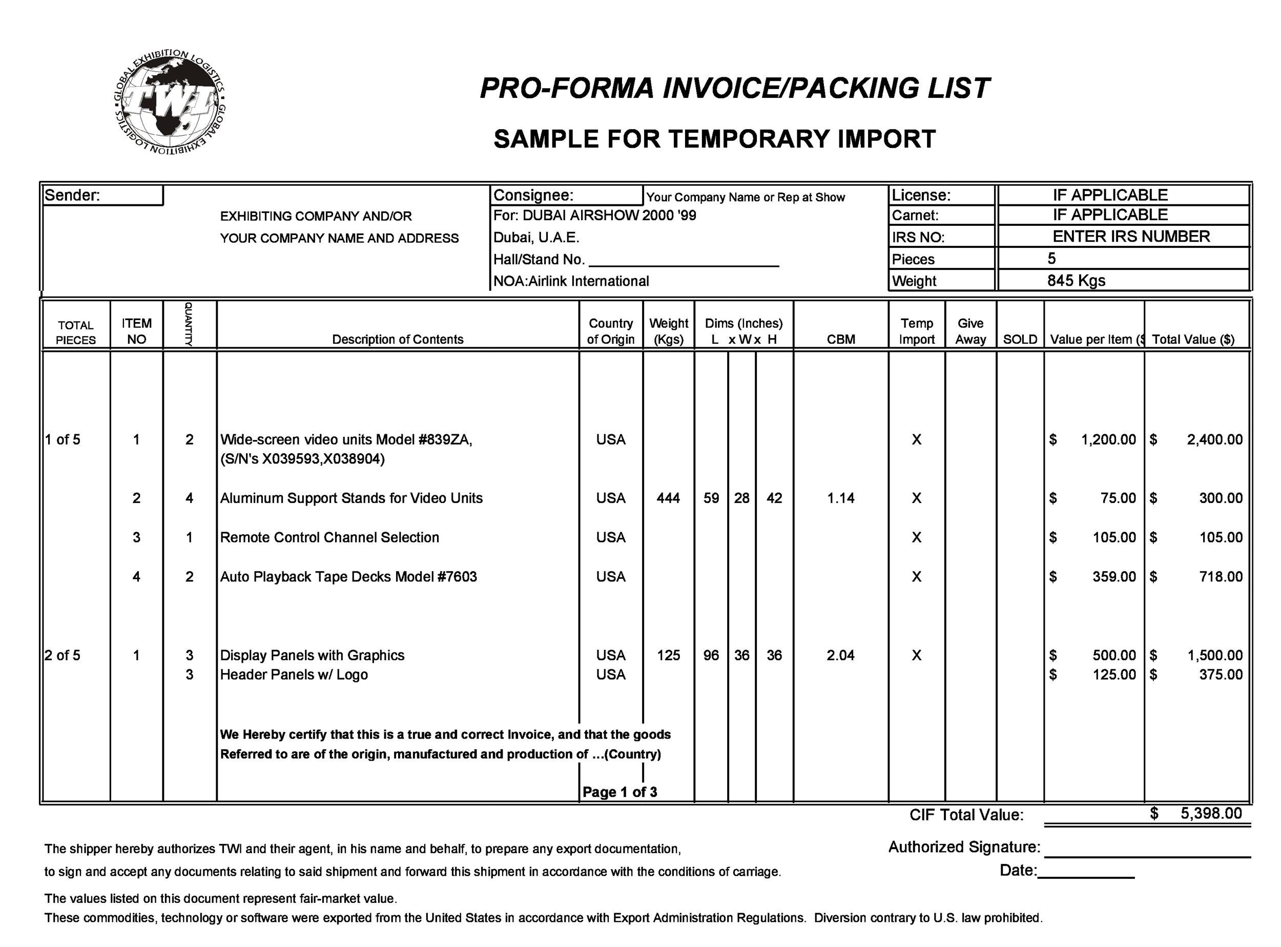 Free Invoice Template 24