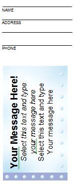 Free Raffle Ticket Templates 09