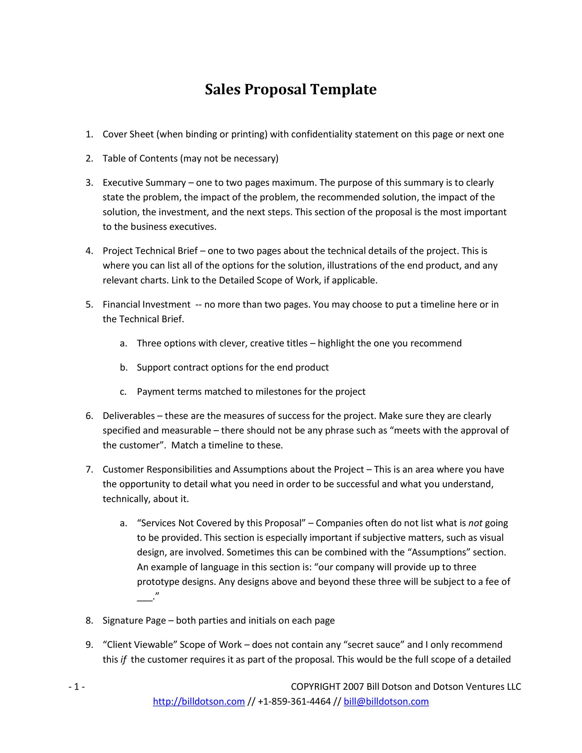 Doc585565 Business Proposal Letter Format 32 Sample Business – Format of Business Proposal Letter