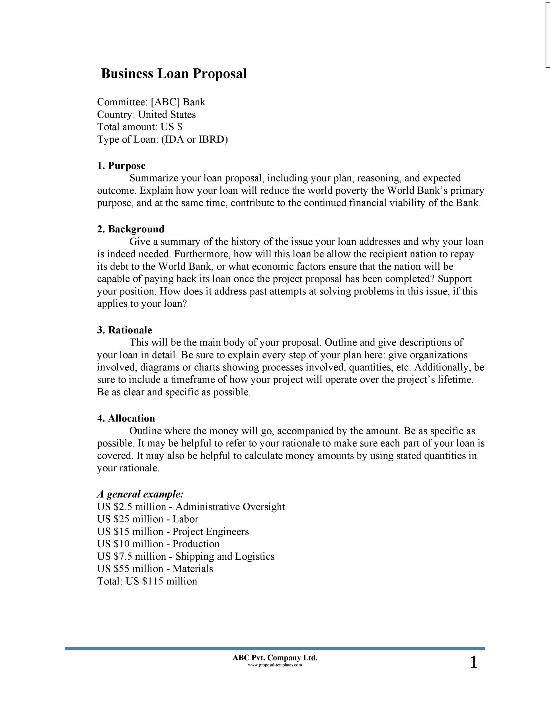 Free Business proposal Template 18
