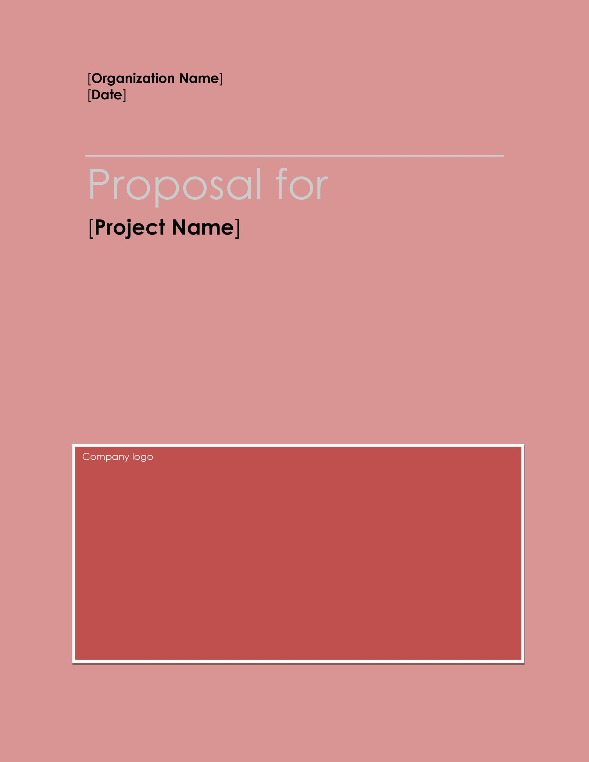 Free Business proposal Template19