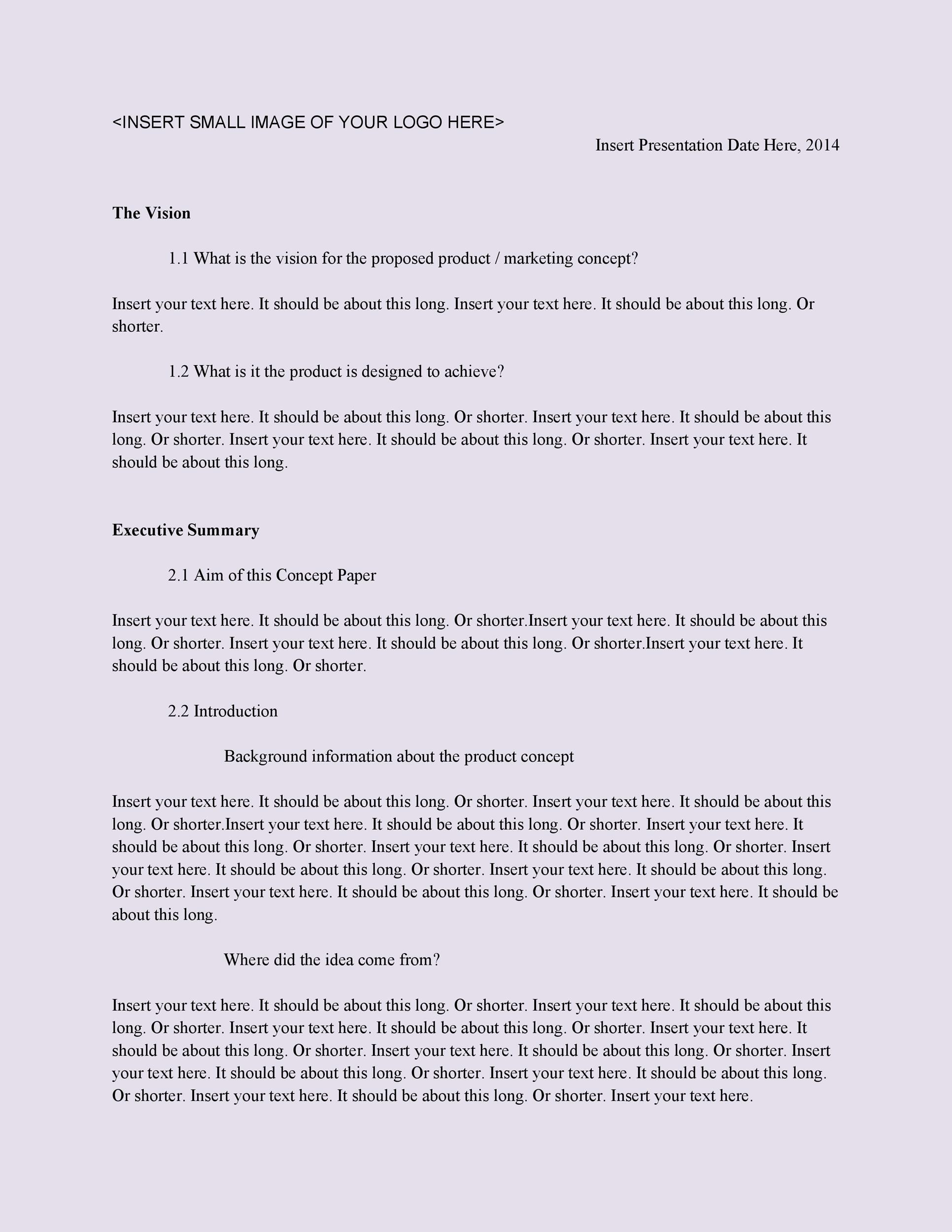 Free Business Proposal Template 27