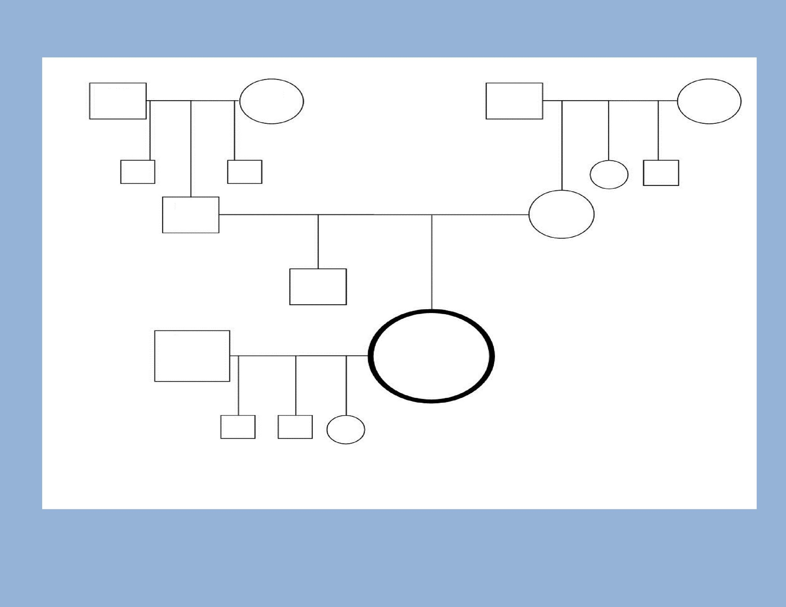 free genogram template 22