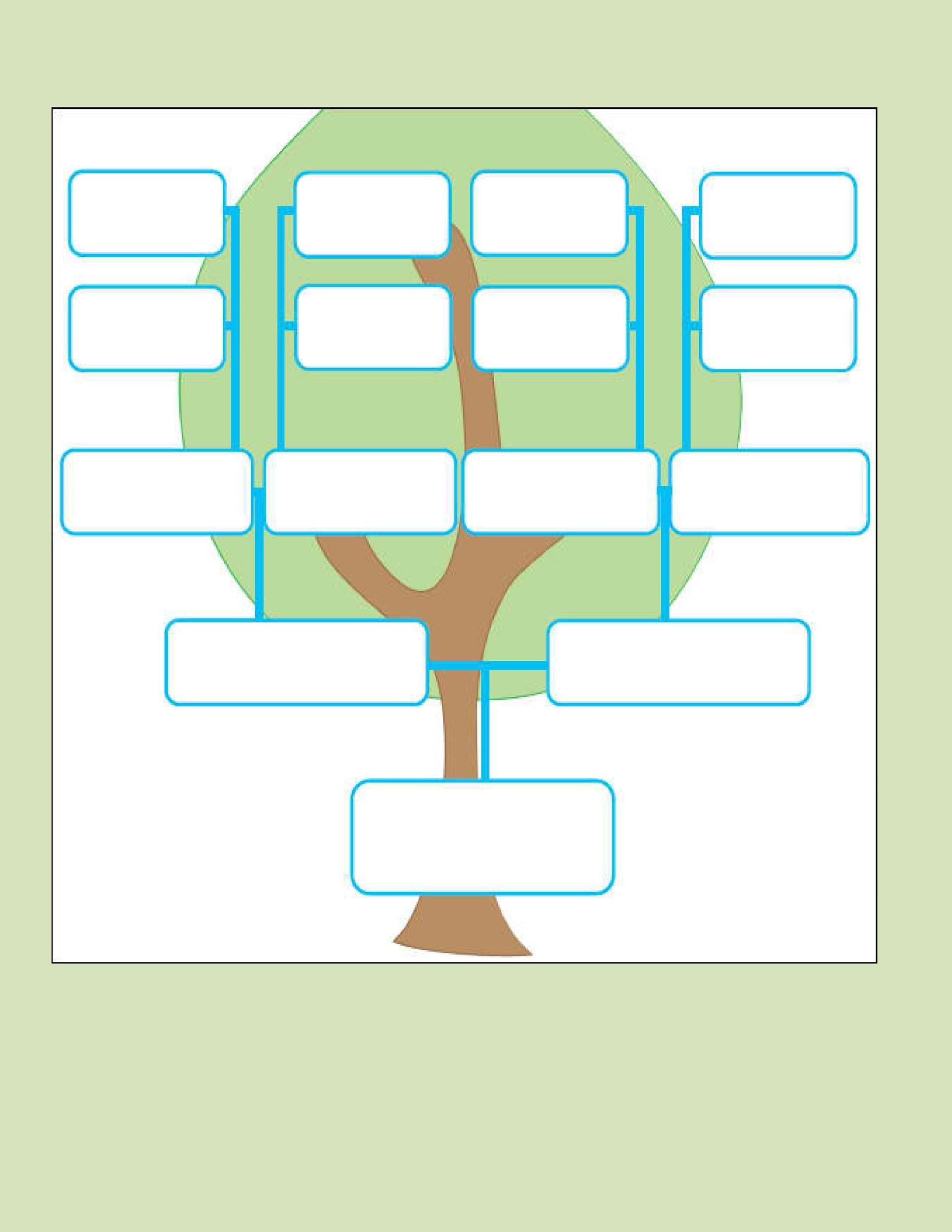 Free Genogram Template 23