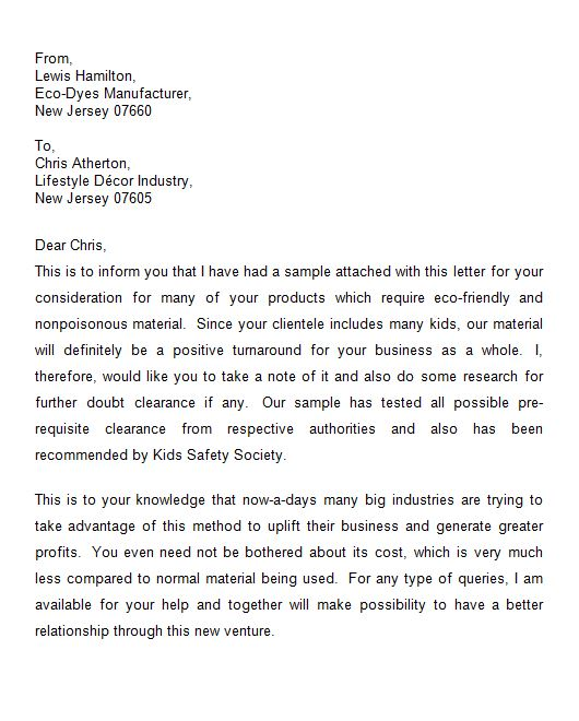 40 letter of introduction templates examples business introduction letter accmission Choice Image