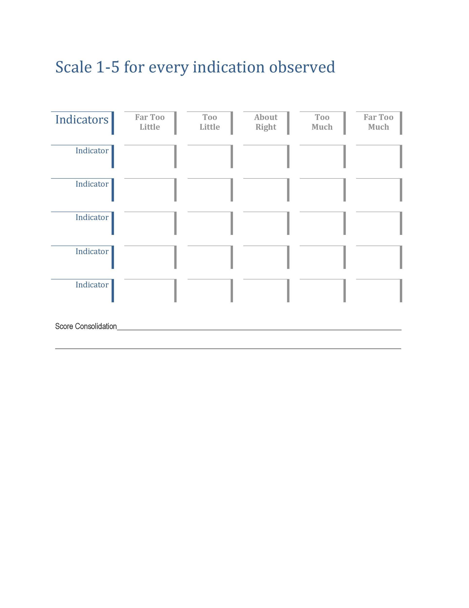 Free Likert Scale 18