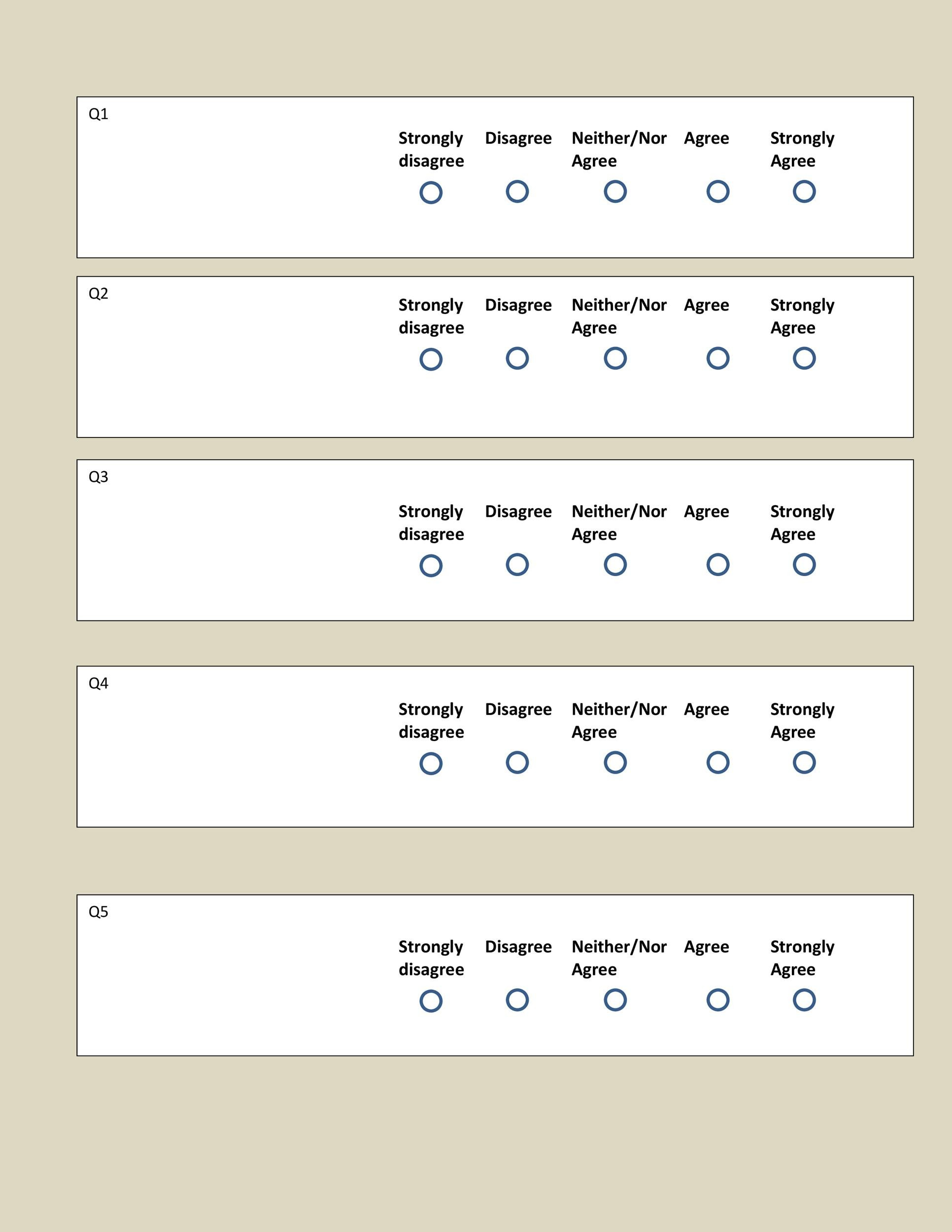 30 free likert scale templates examples template lab