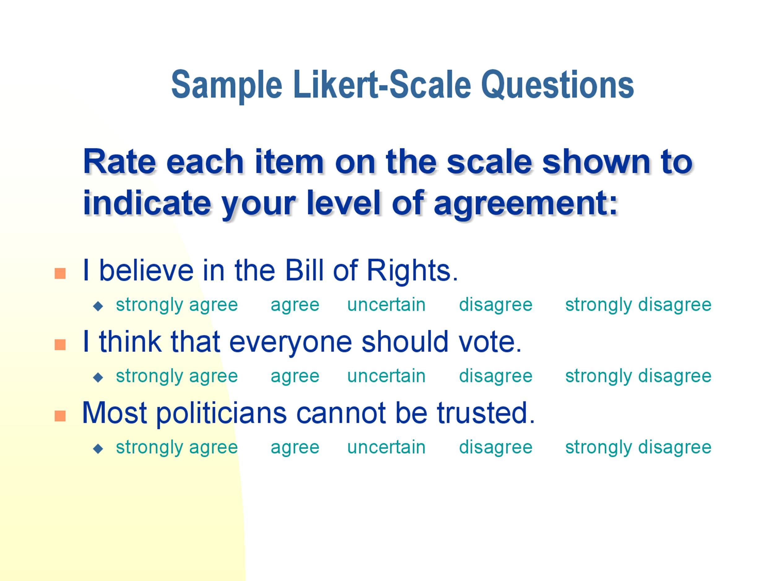 Free Likert Scale 27