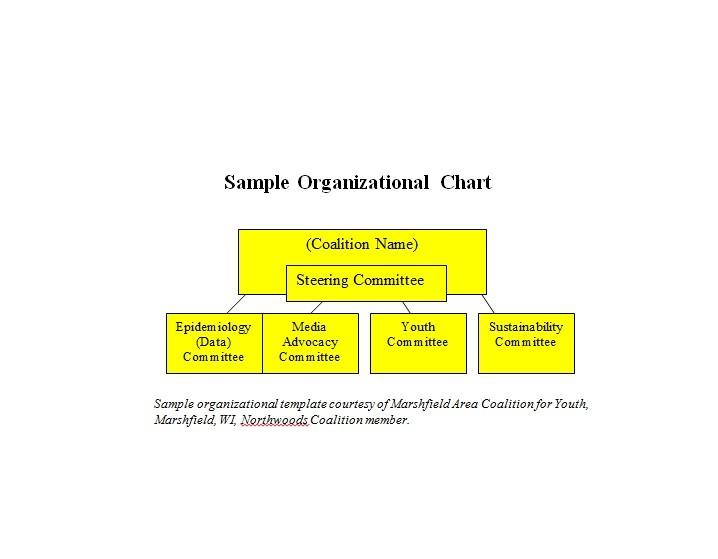 Free Organizational Chart Template 08