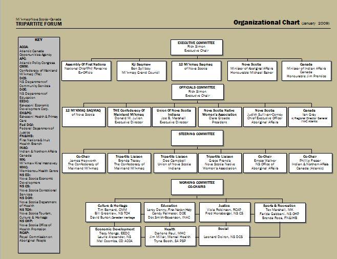 Free Organizational Chart Template 14