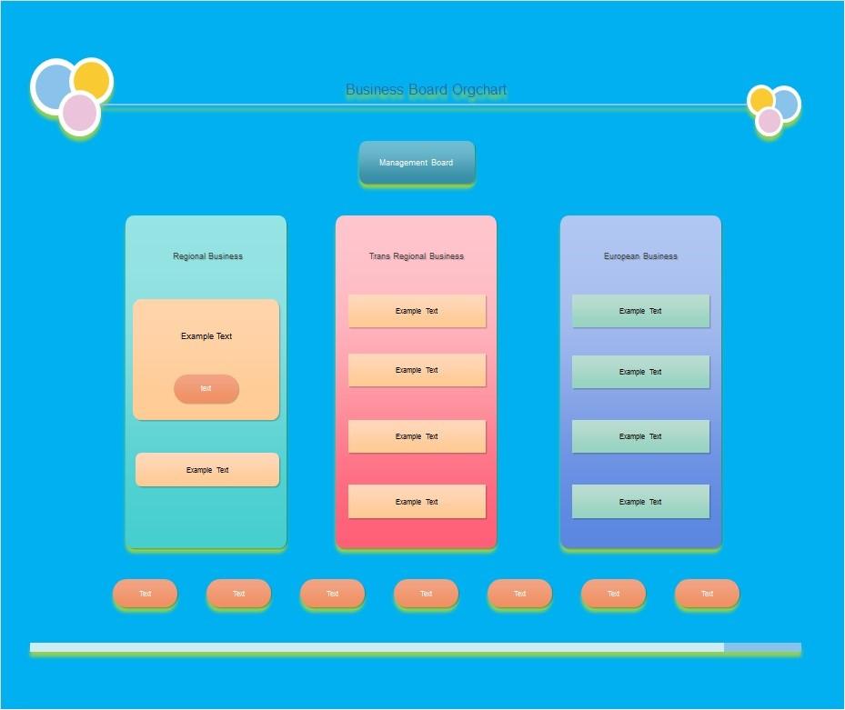 Free Organizational Chart  Template 29