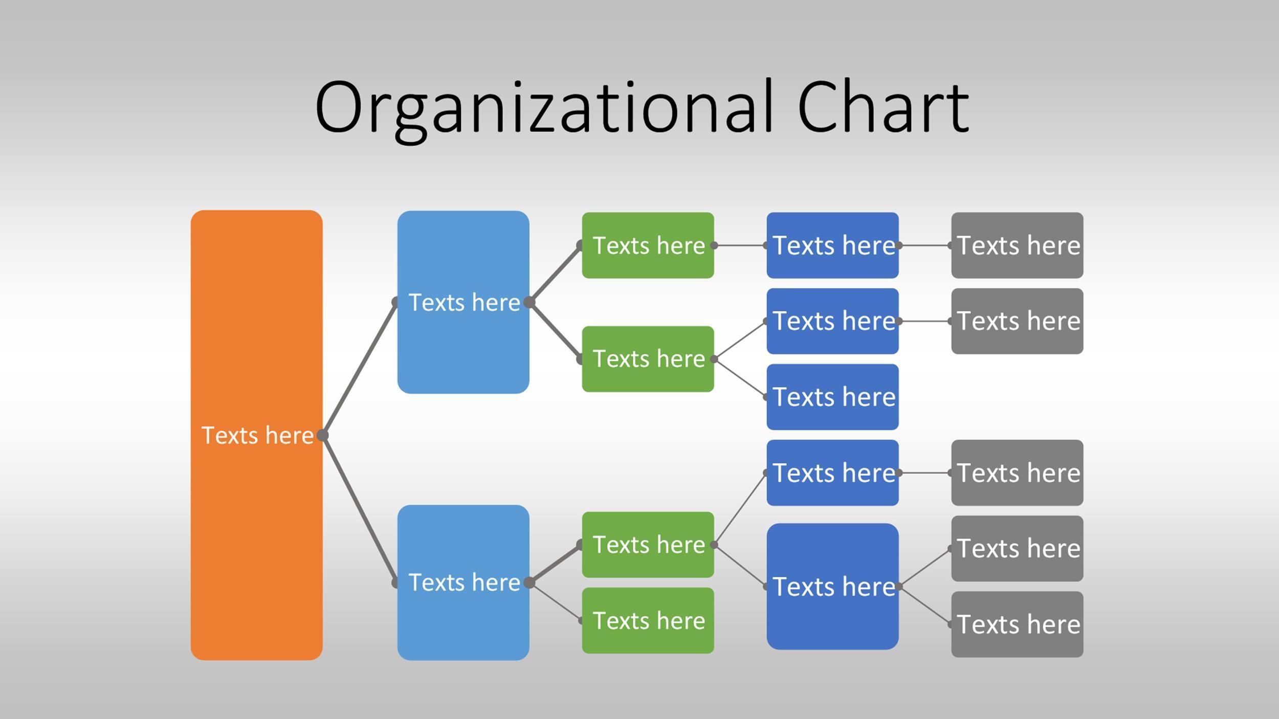Free Organizational Chart  Template 38