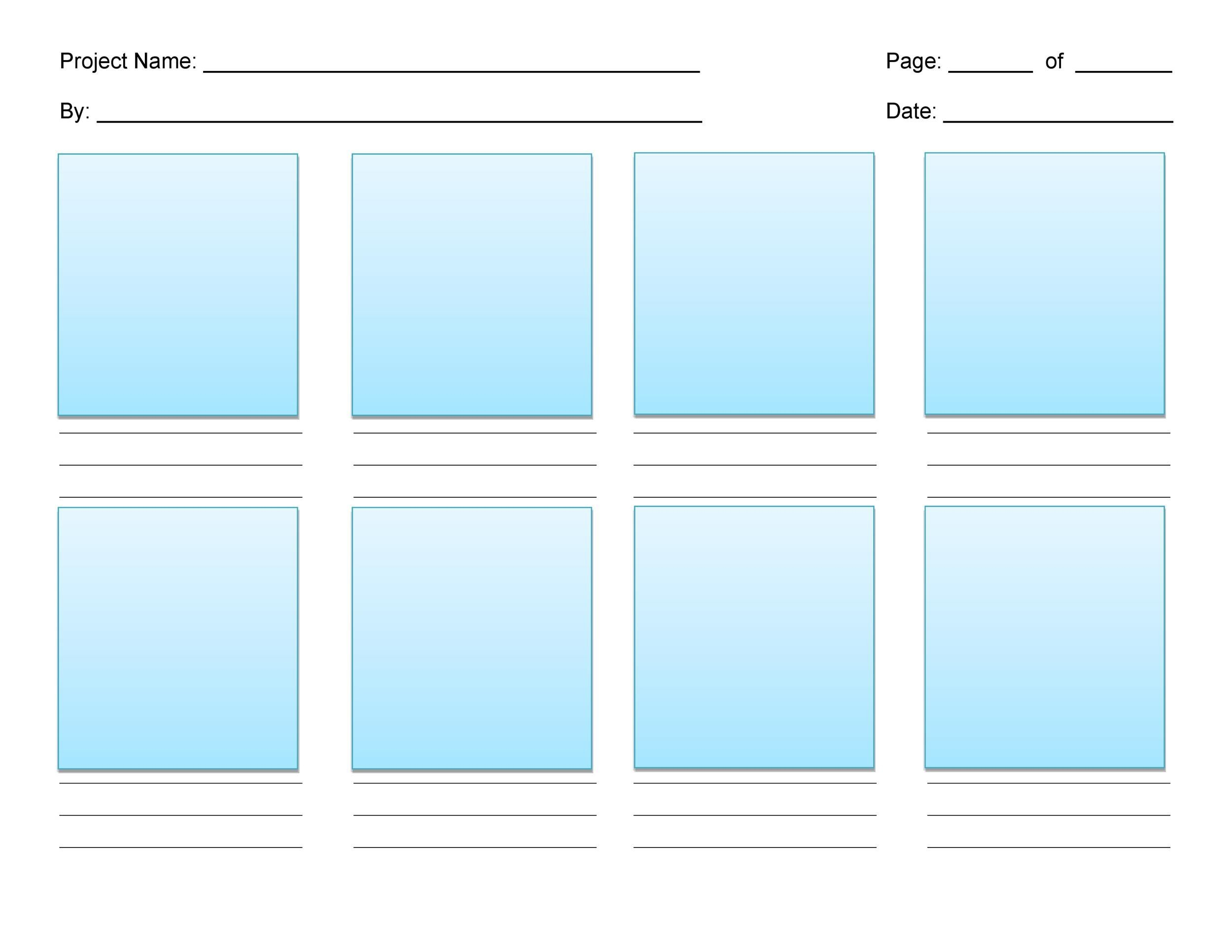 40 Professional Storyboard Templates & Examples