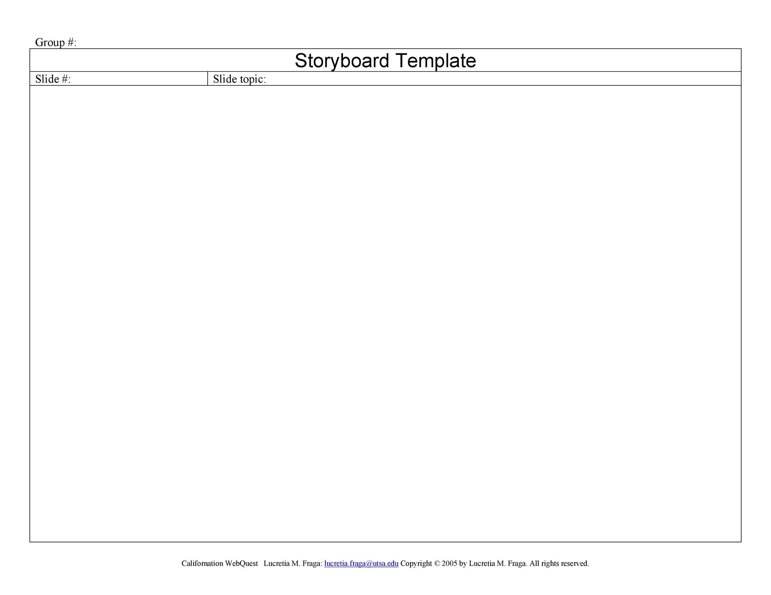 Free Story Board 34