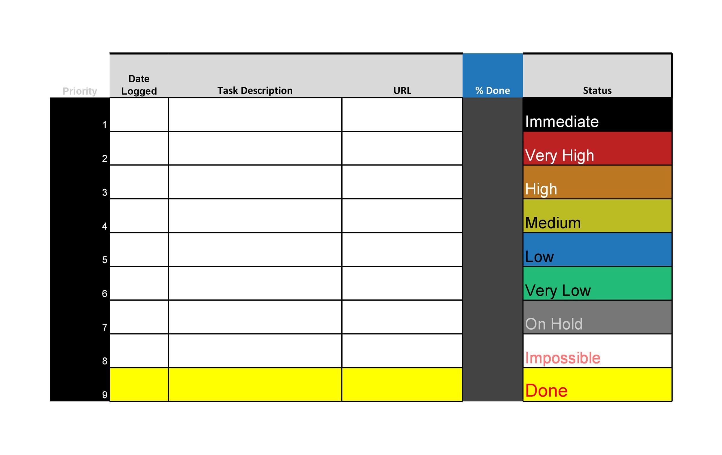 Free Checklist Template 01