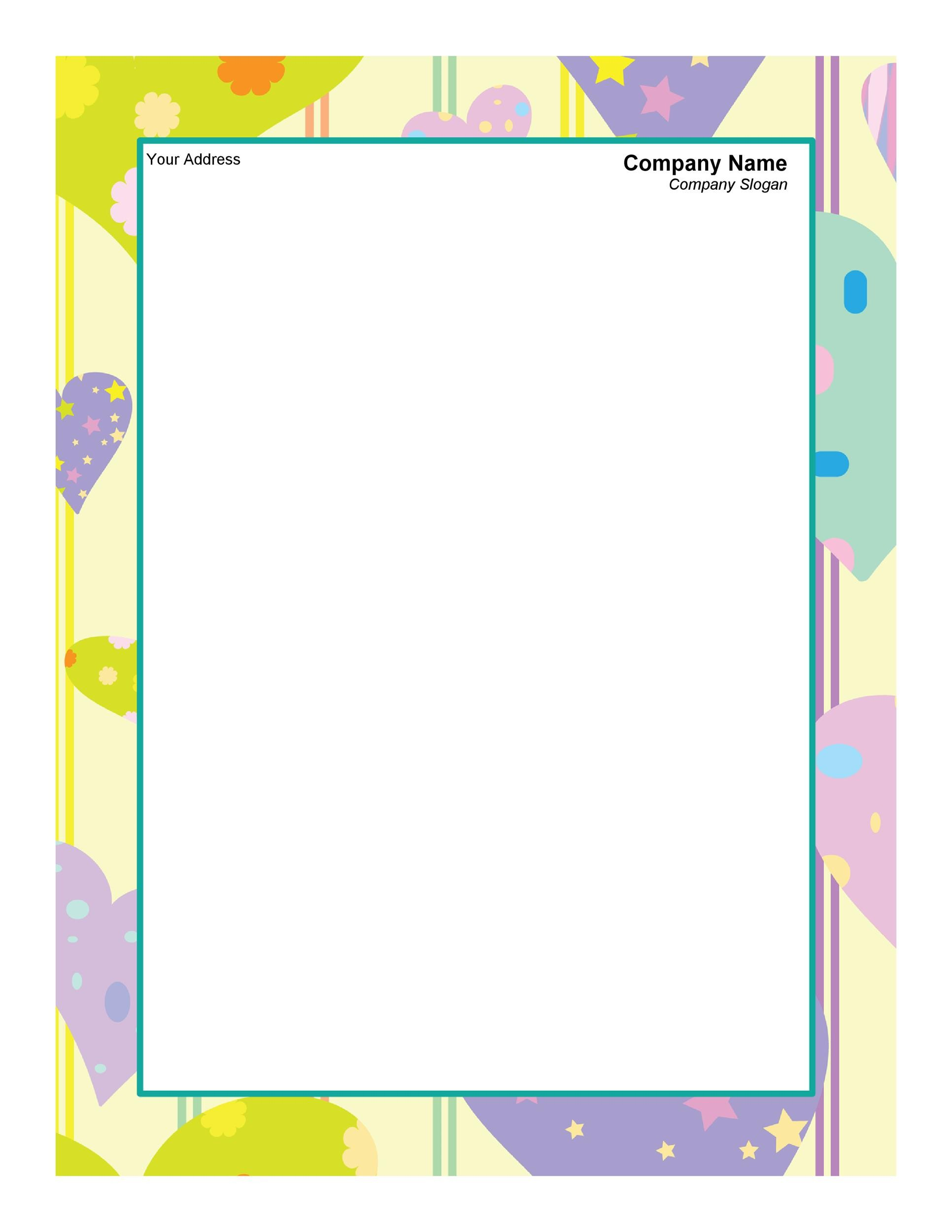 45 Free Letterhead Templates Examples Company Business Personal – Free Company Letterhead