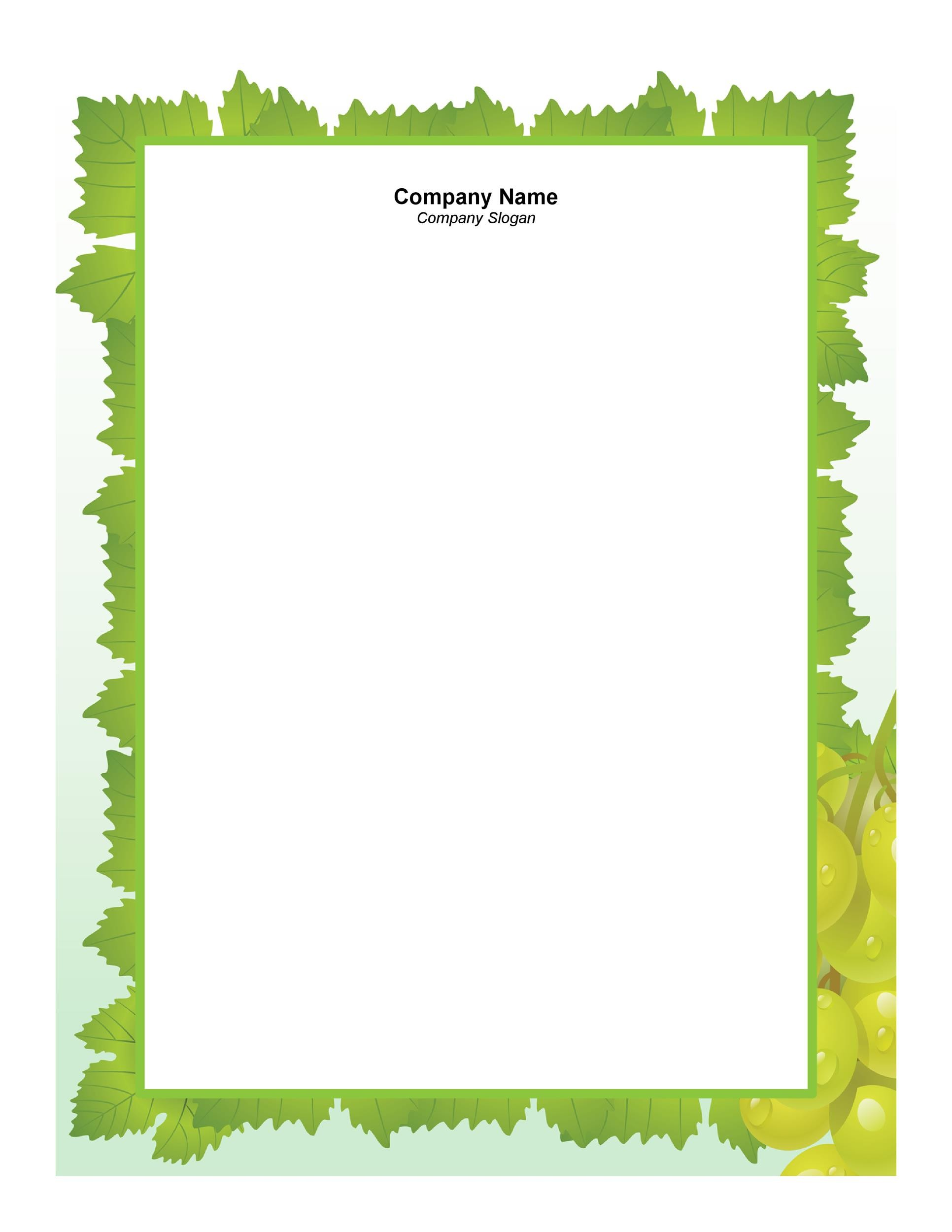 45 free letterhead templates examples template lab sample