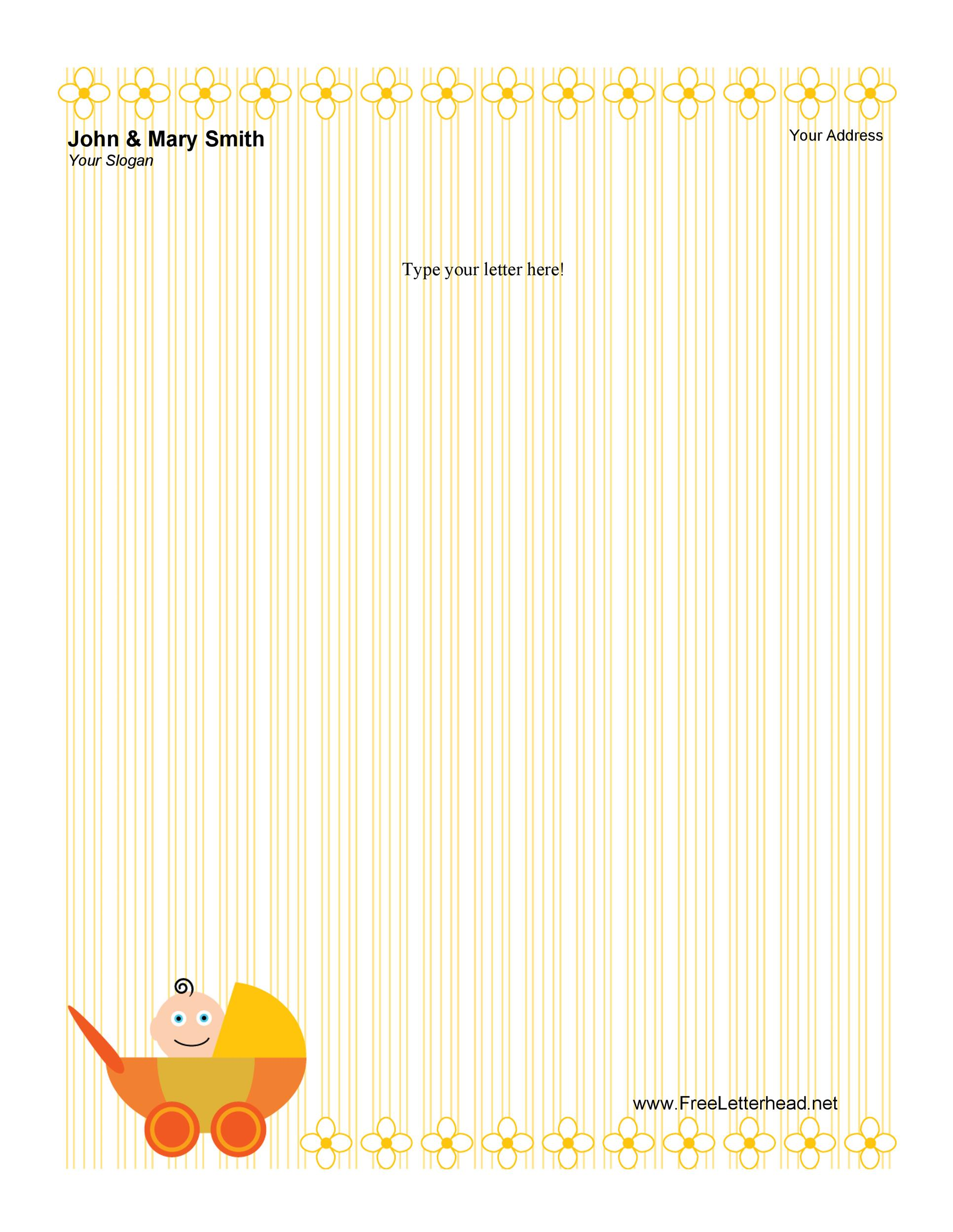 45 Free Letterhead Templates Examples Company Business Personal – Professional Letterhead Format