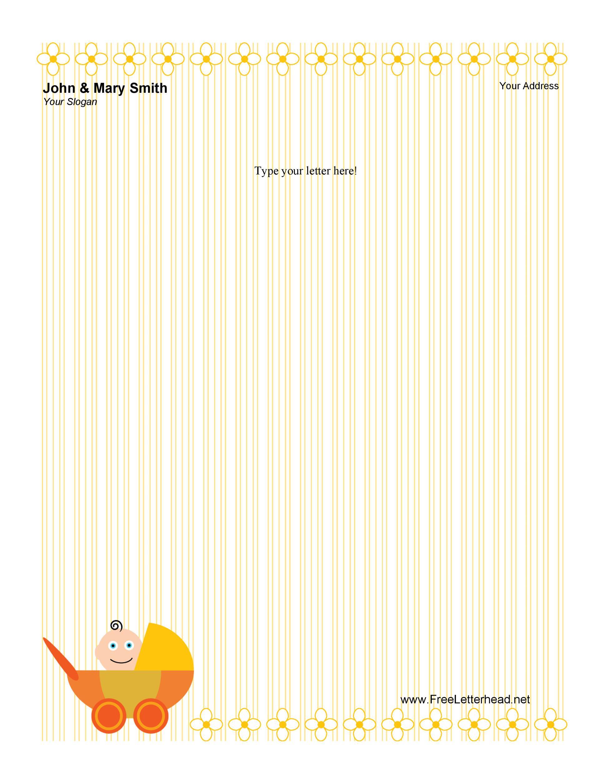 Free Letterhead Template 33