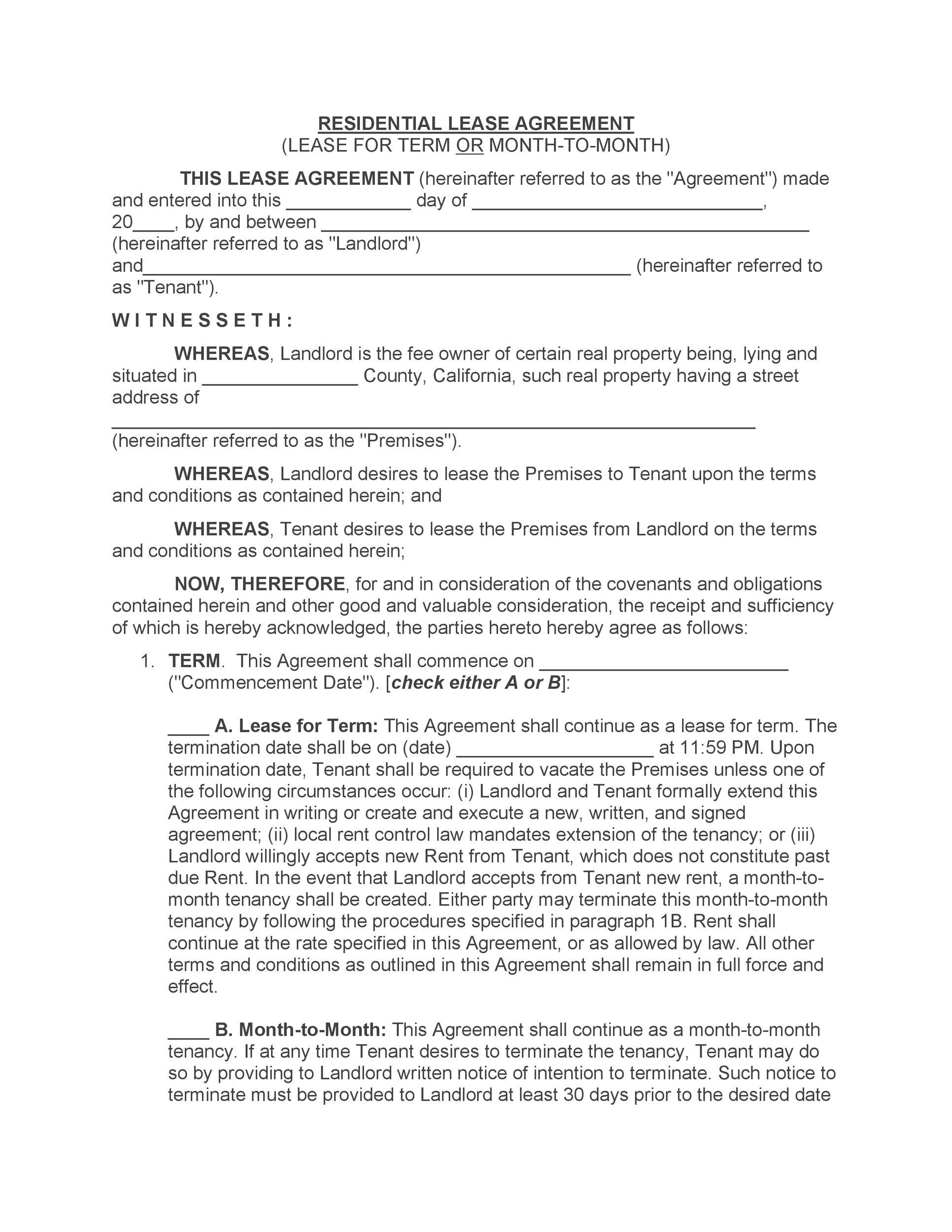 Free Rental Application Template 22