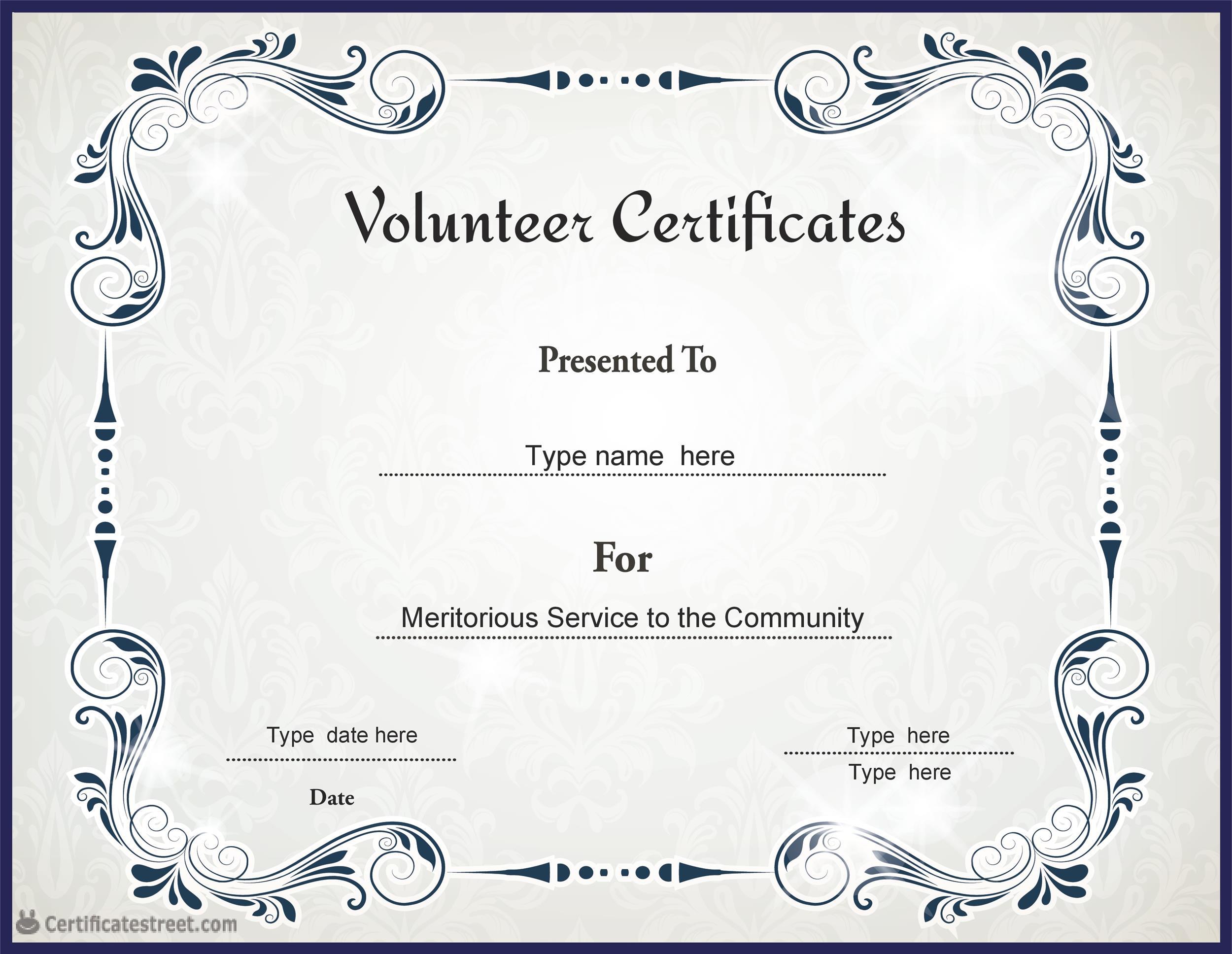 Free Award Template 05