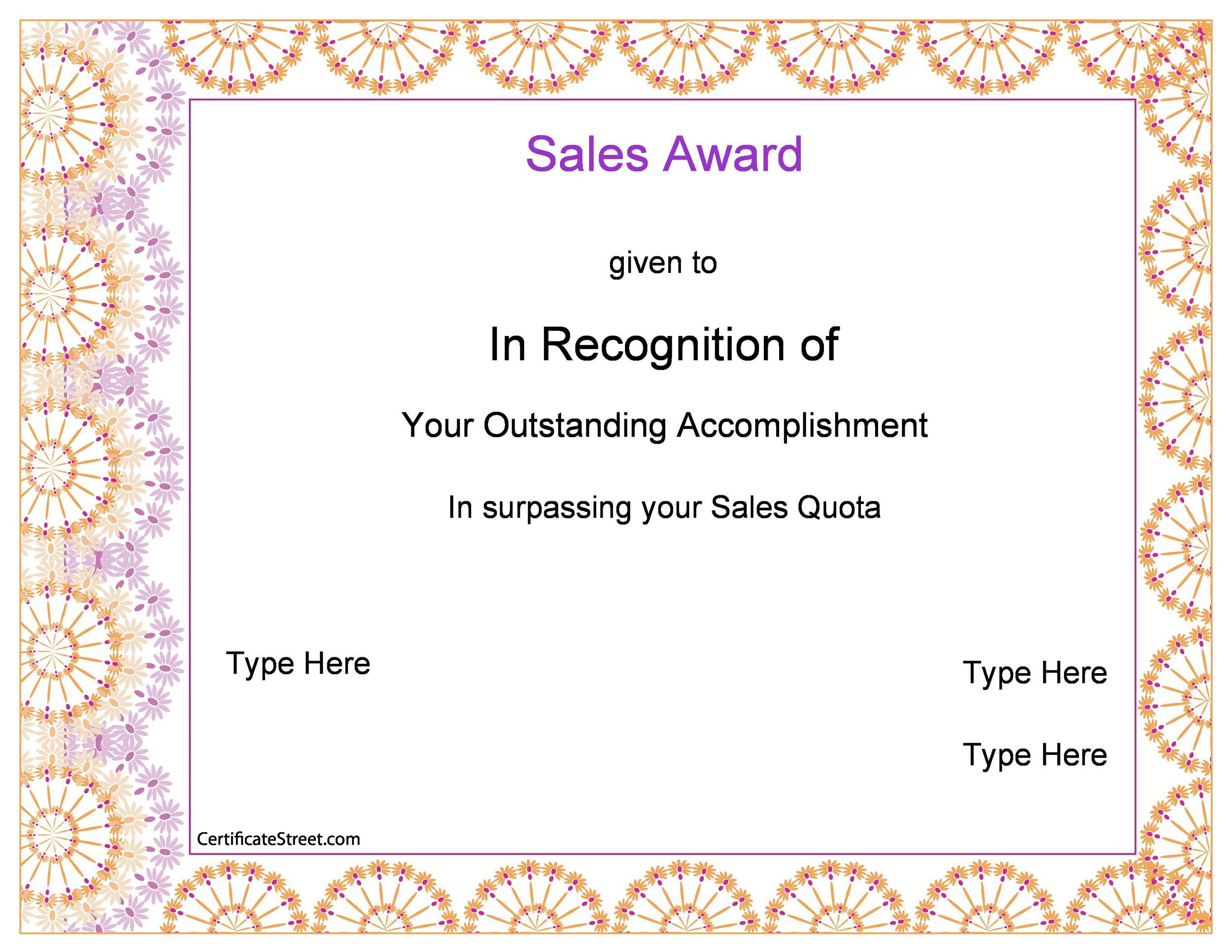 50 Amazing Award Certificate Templates Template Lab – Certificate Award Template