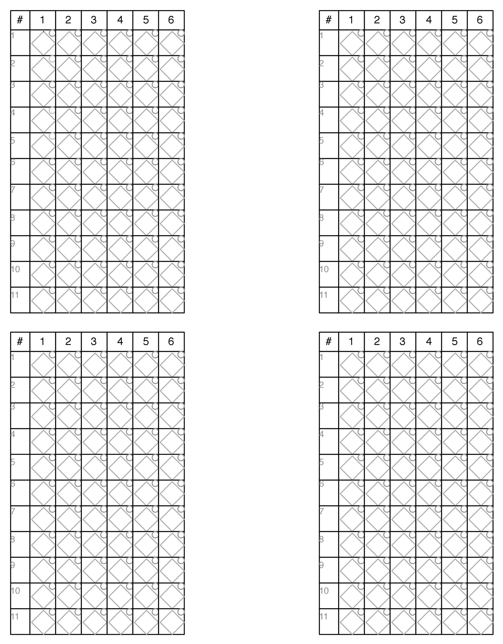 Baseball Scoresheet Template 25