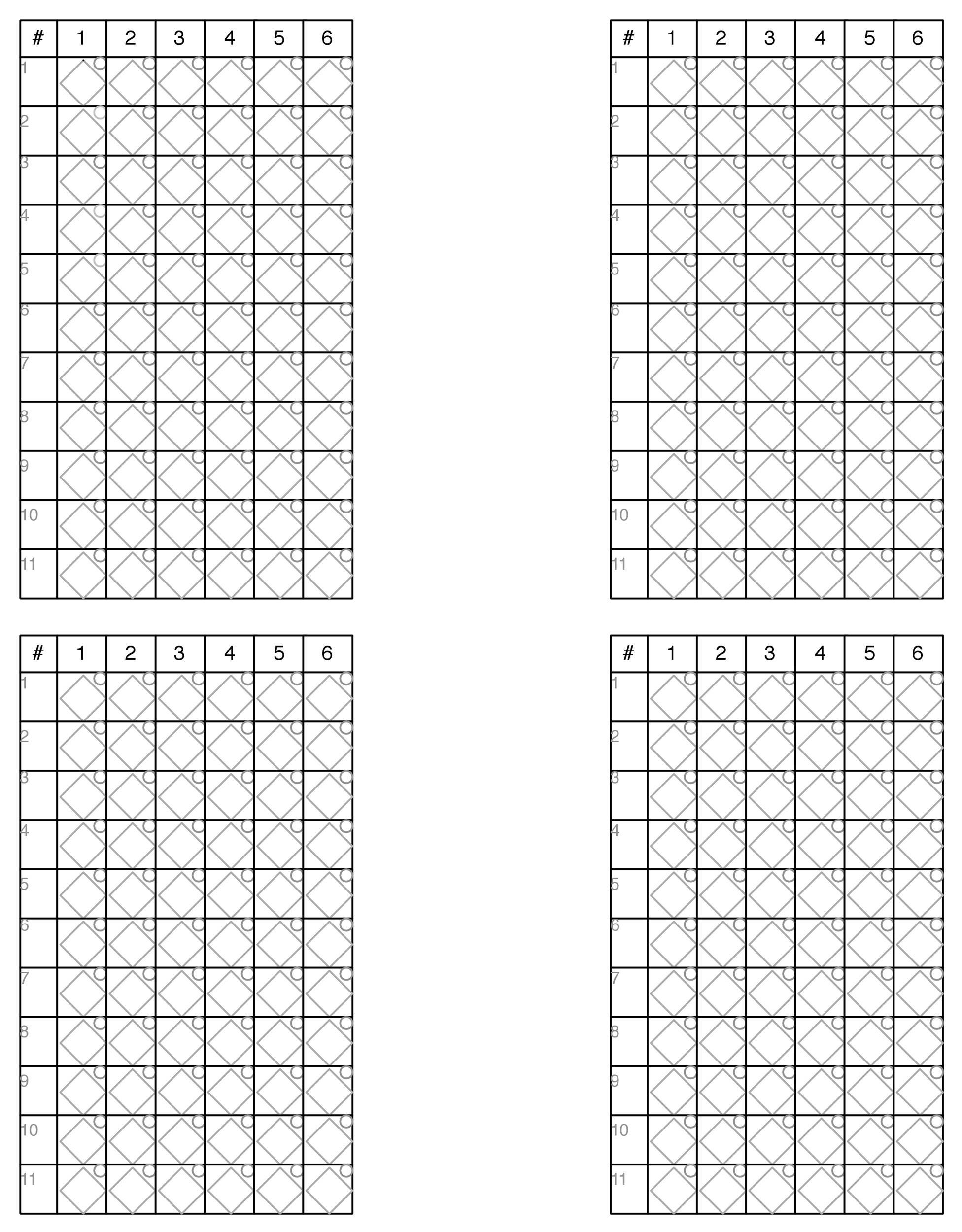 Free Baseball Score sheet Template 25
