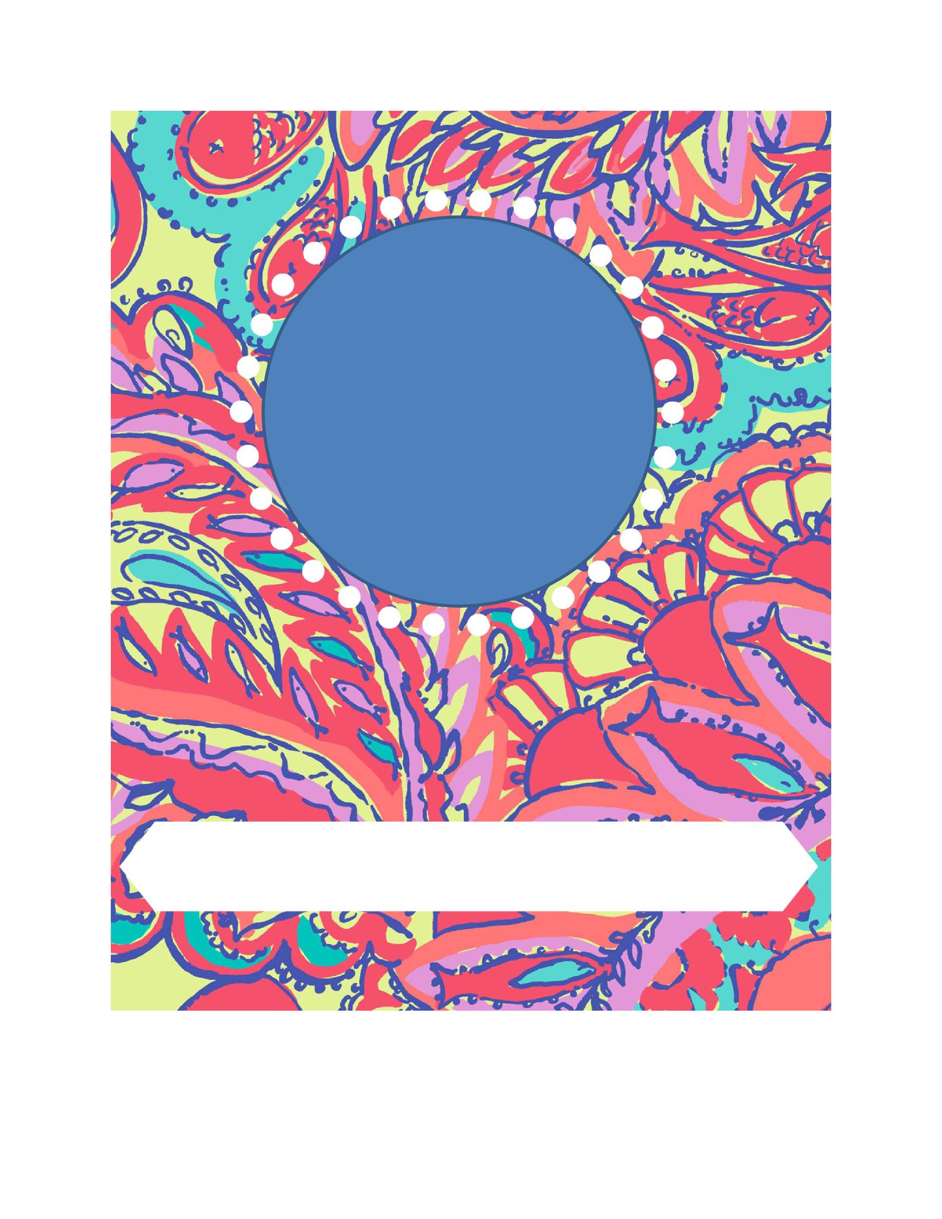 Free Binder Cover Template 03