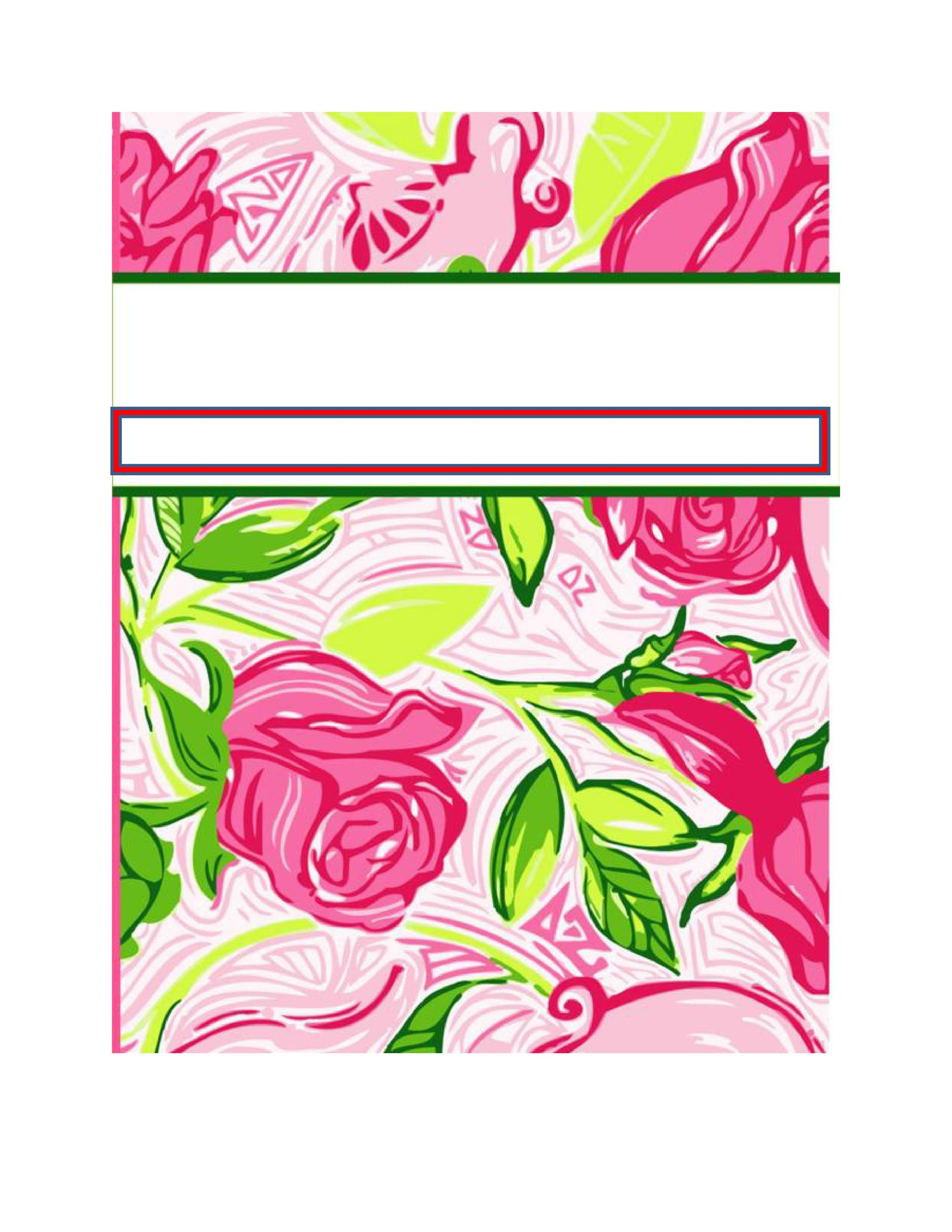 Free binder cover templates | customize online & print at home | free!