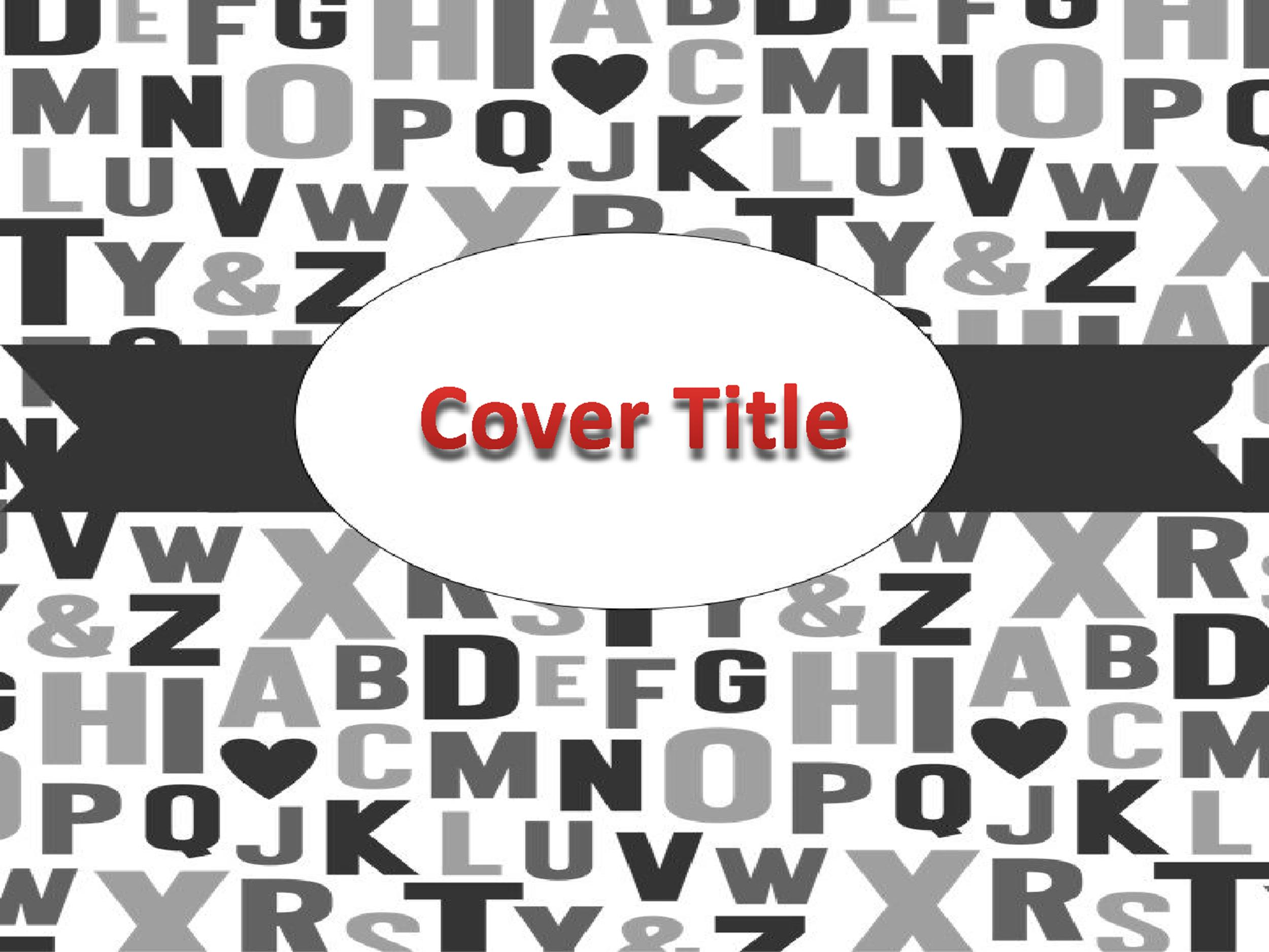 Free Binder Cover Template 31