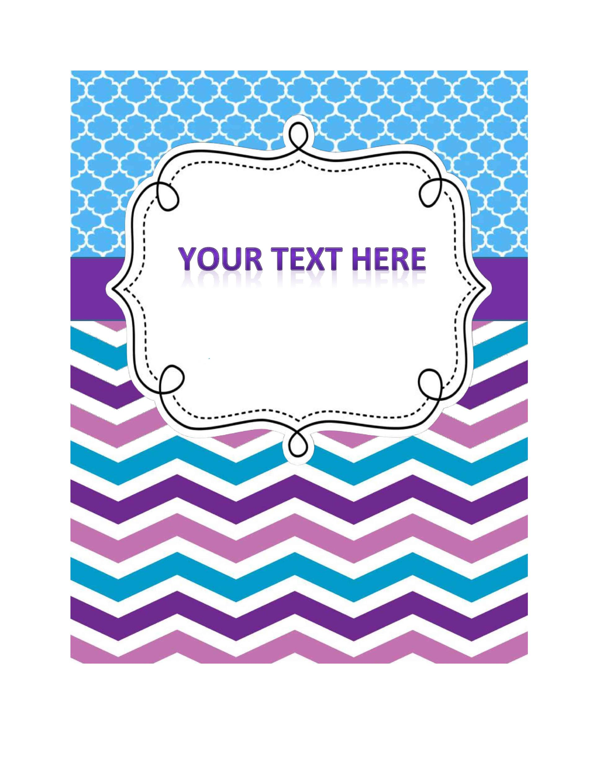 Free Binder Cover Template 33