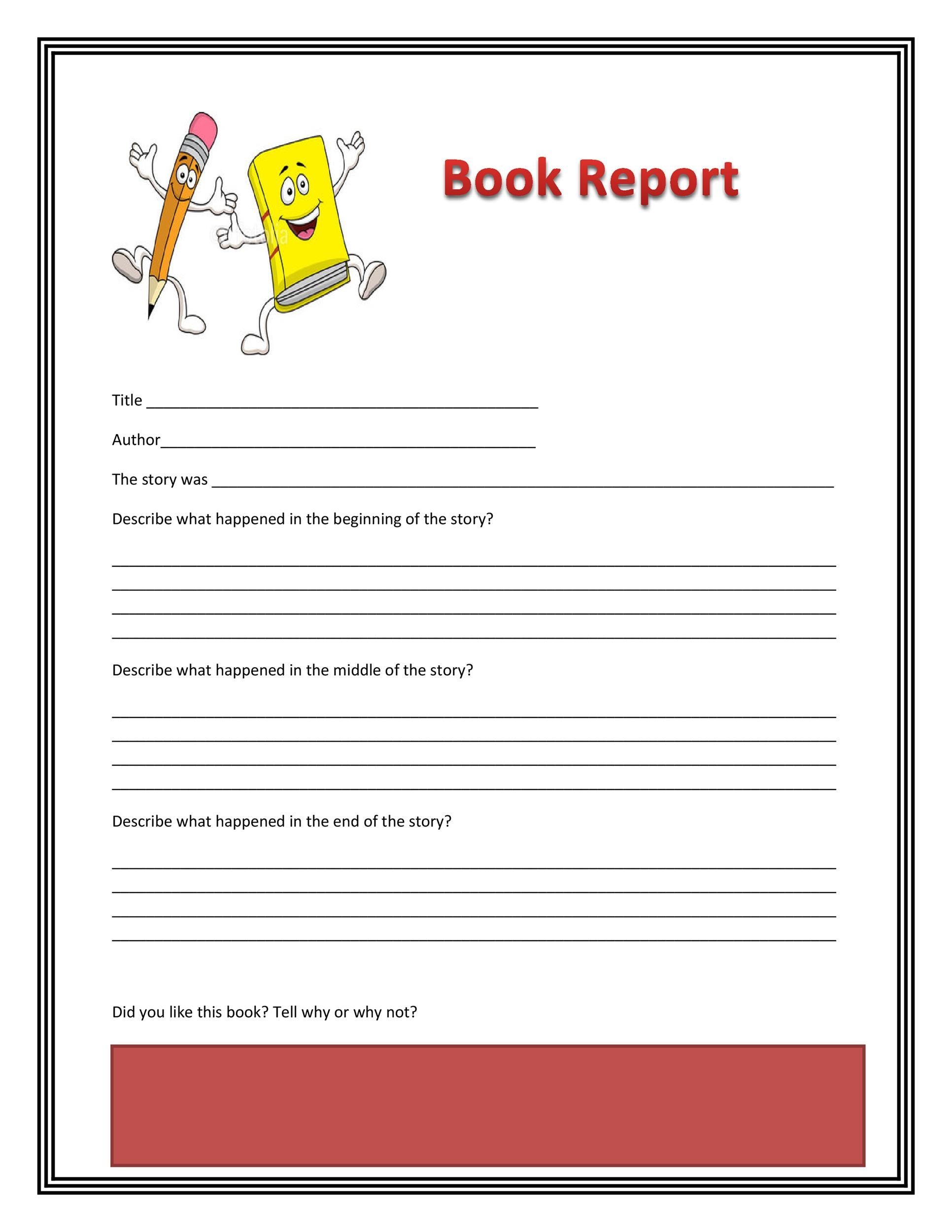 30 Book Report Templates Reading Worksheets – Beginning Middle and End Worksheets