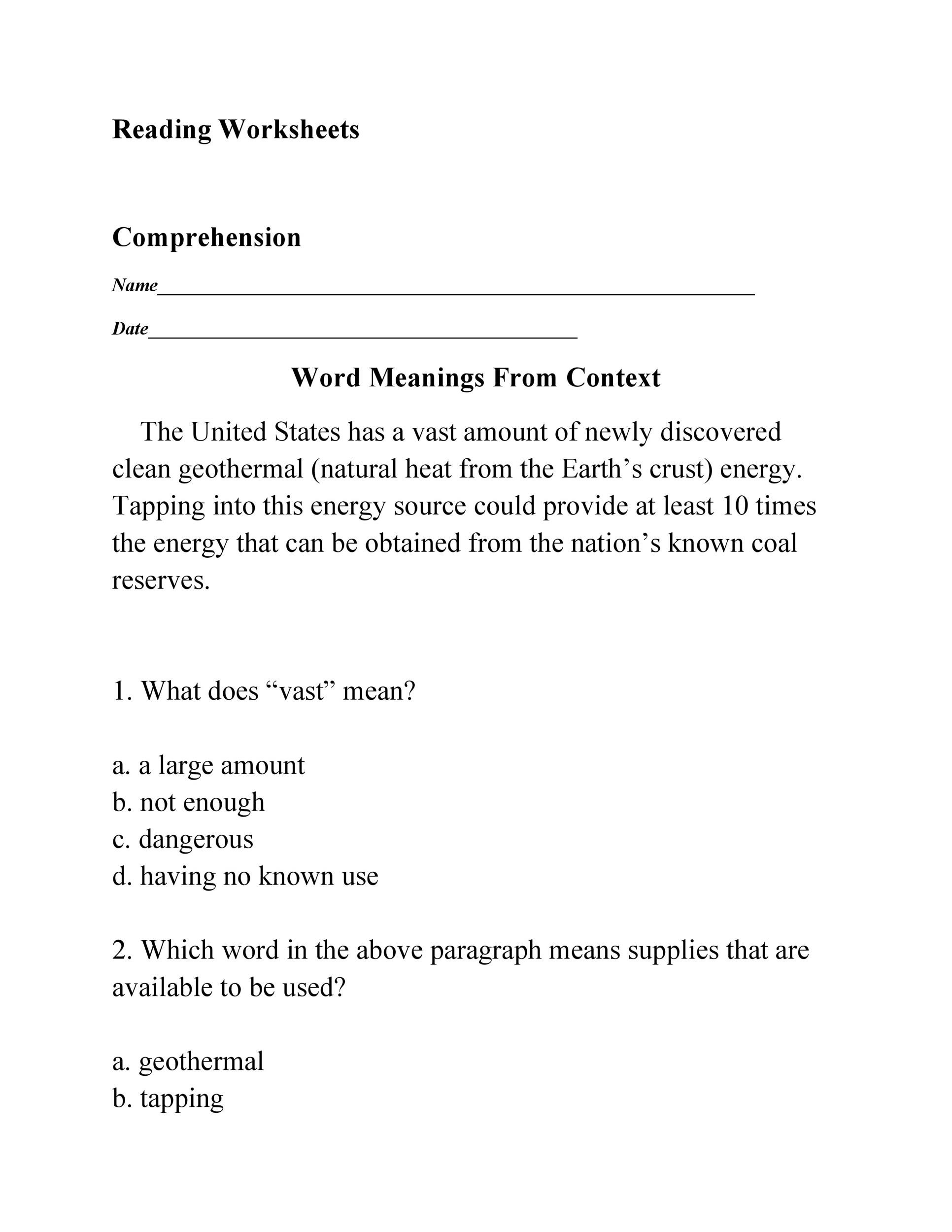 Free Book Report Template 20