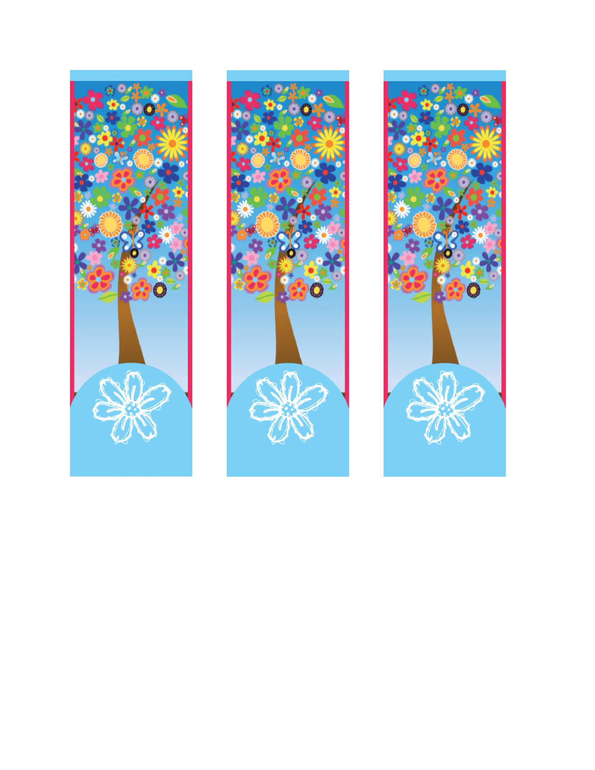 Bookmark Template 06