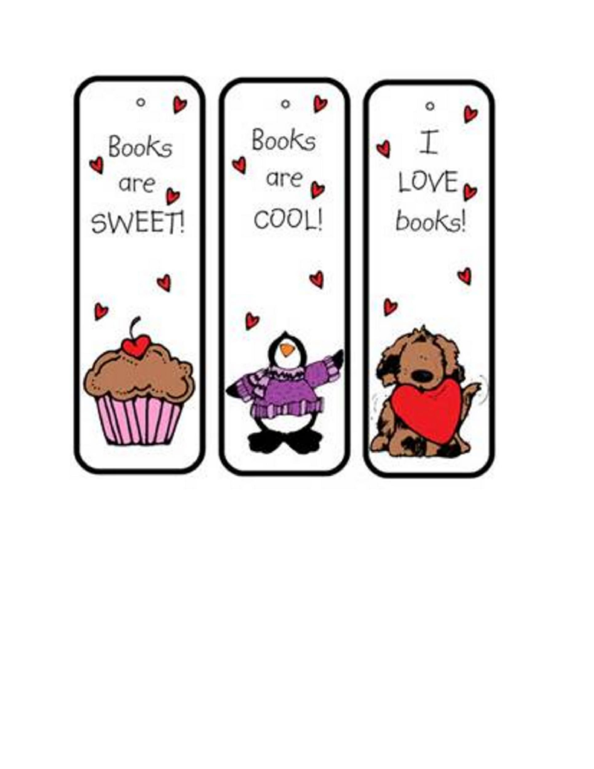 Bookmark Template 12